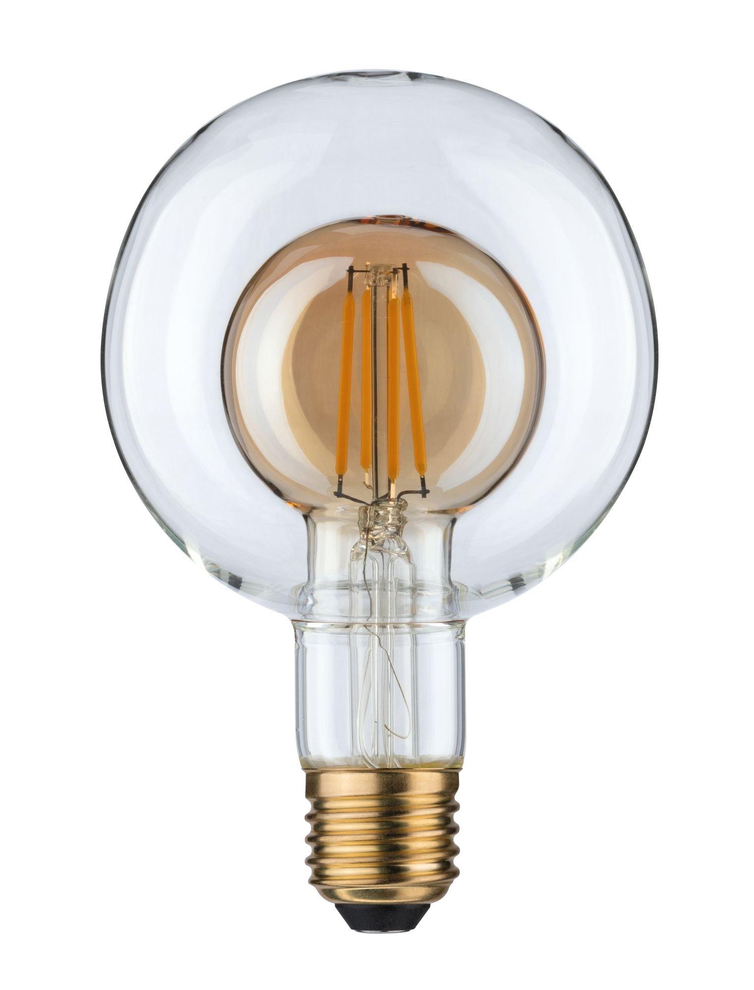 Inner Shape Edition LED Globe E27 230V 400lm 4W 2700K Gold