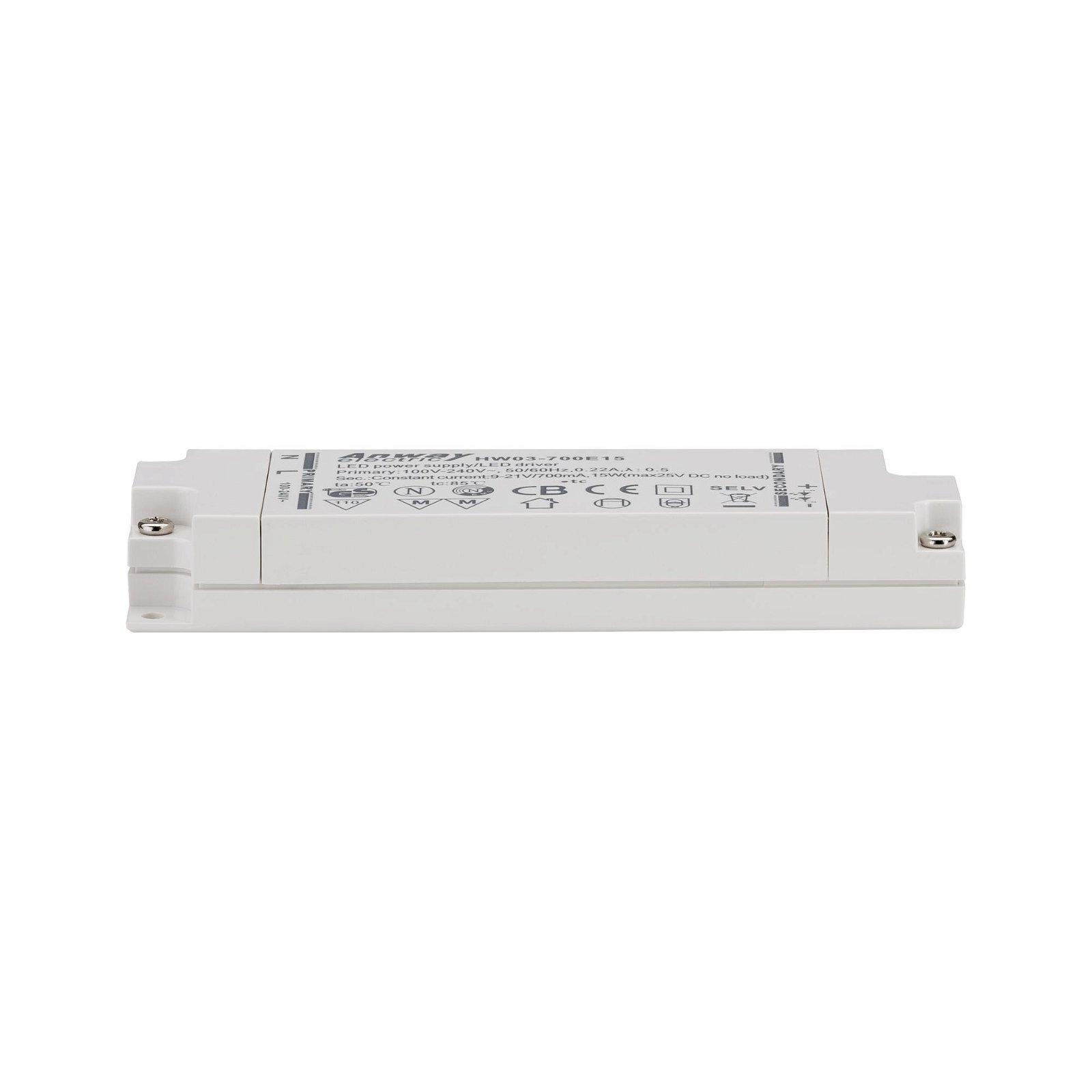 Driver LED 230V 6-15VA Blanc