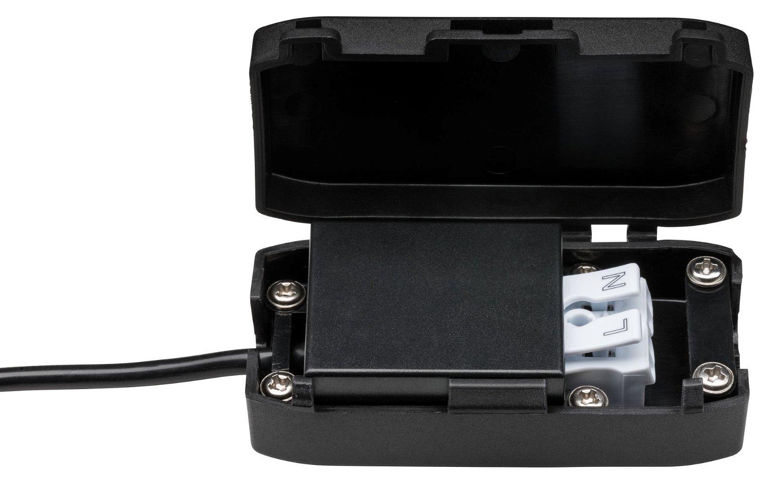 HomeSpa LED Einbauleuchte Calla Basisset schwenkbar IP65 rund 90mm 30° 10x6W 10x680lm 230V 4000K Chrom matt