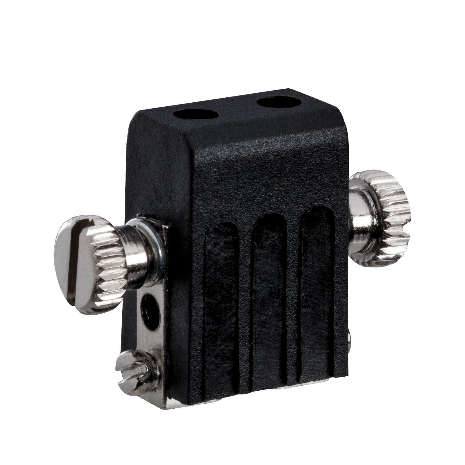 Seilsystem Socket Lampenhalter GX5,3 max. 50W 12V Schwarz