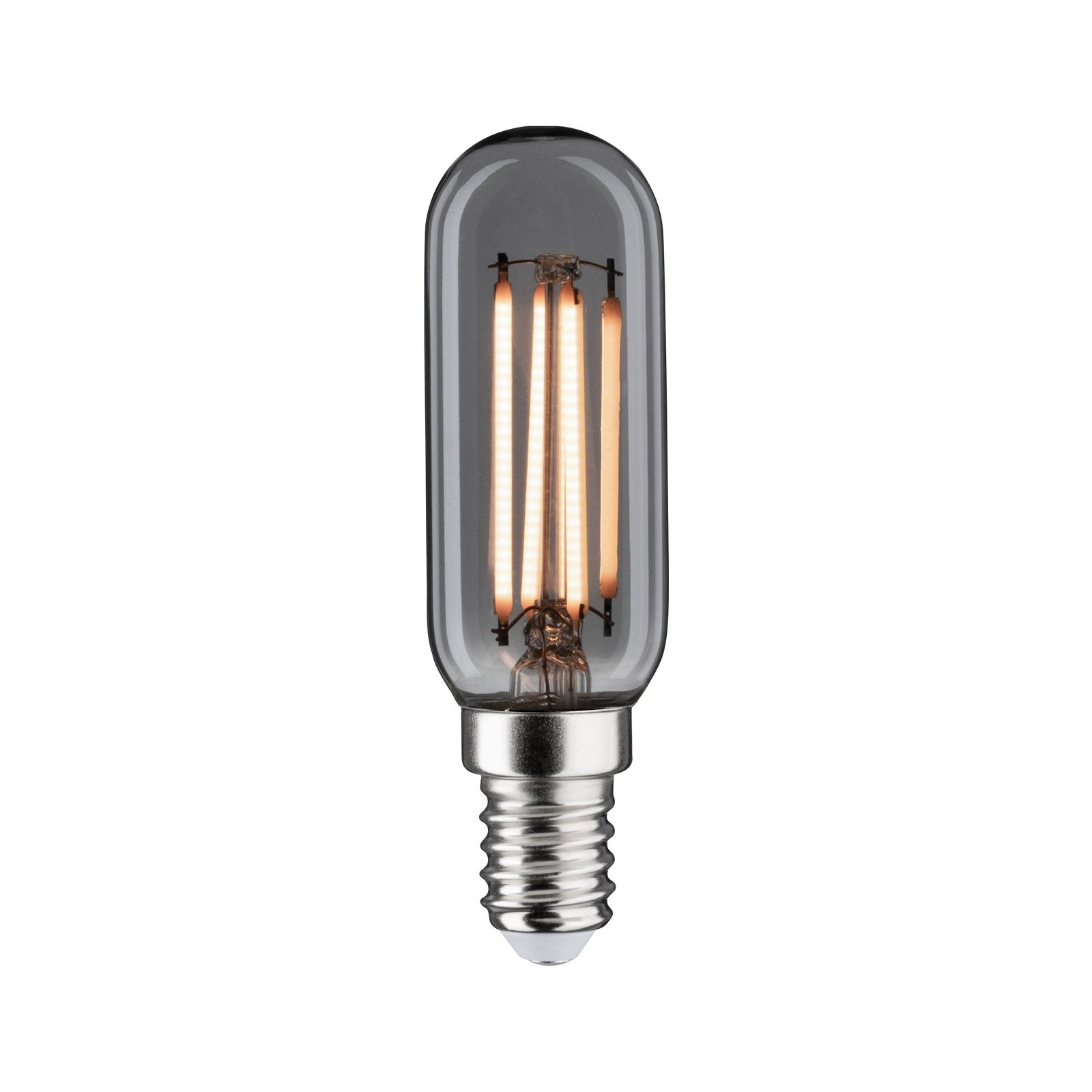 1879 LED Röhre E14 230V 180lm 4W 2200K Rauchglas