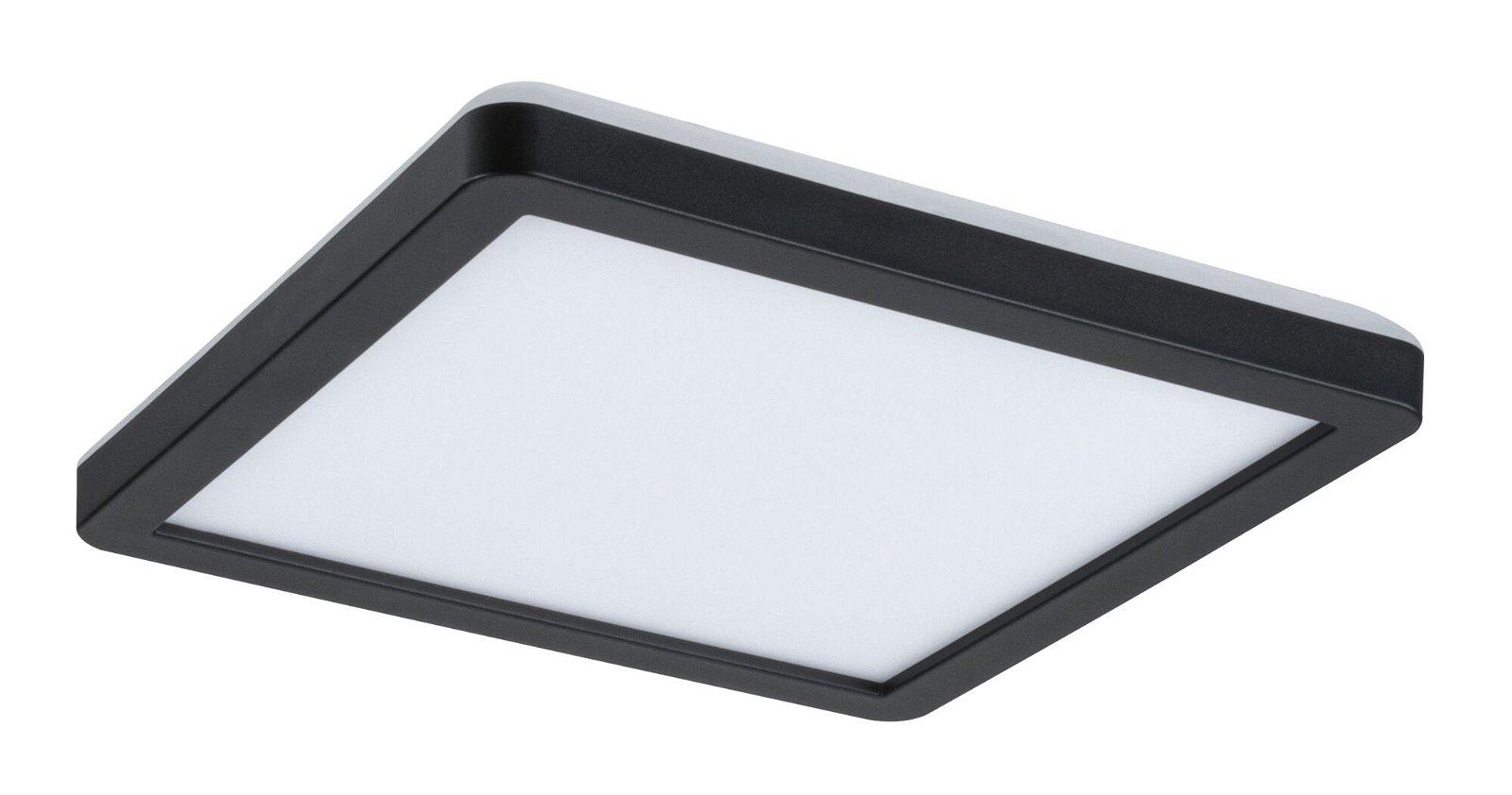 LED Panel Atria Shine eckig 190x190mm 1360lm 4000K Schwarz