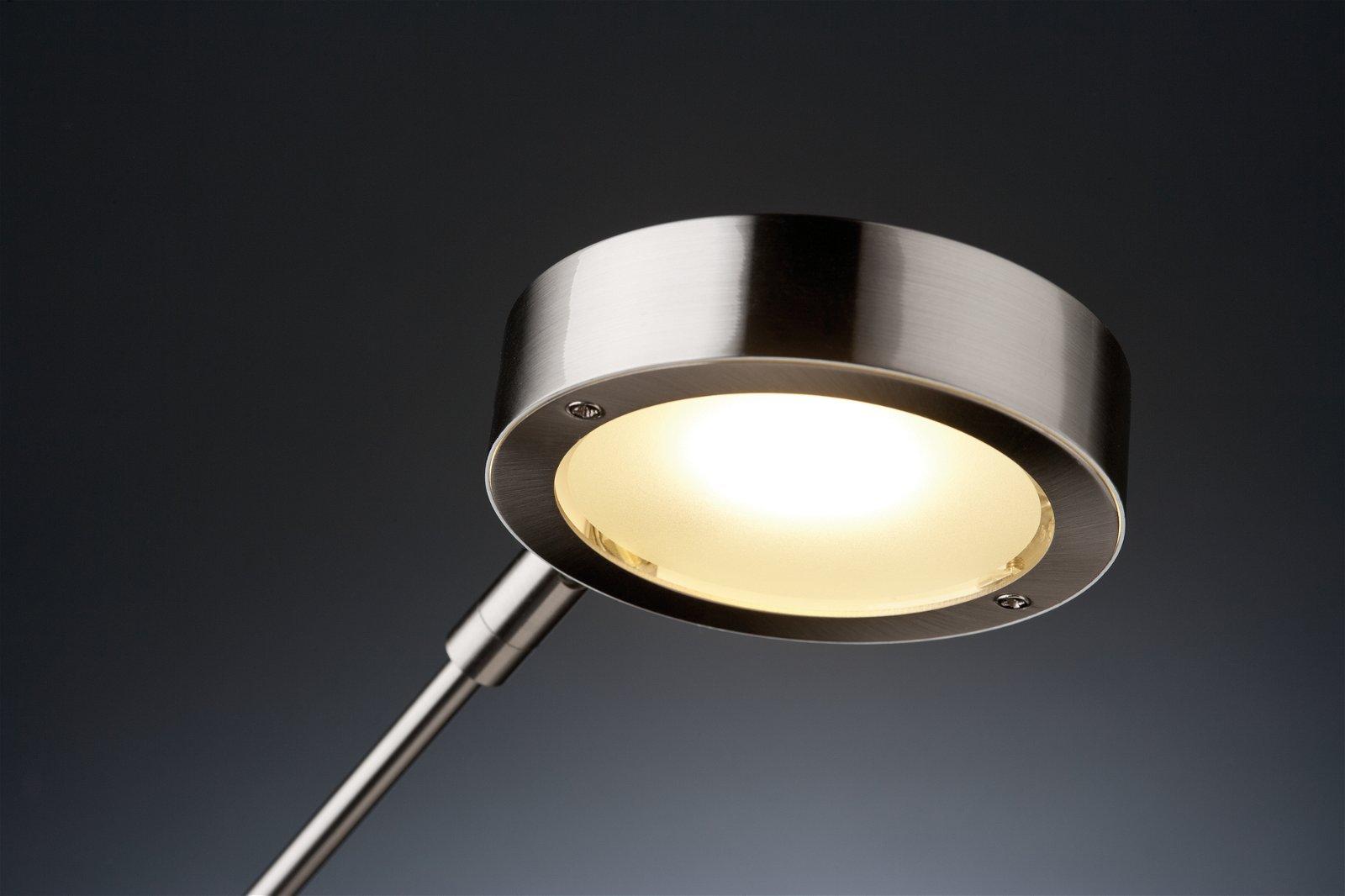 LED-bureaulamp Zed 3000K 359lm 6,7W Staal geborsteld