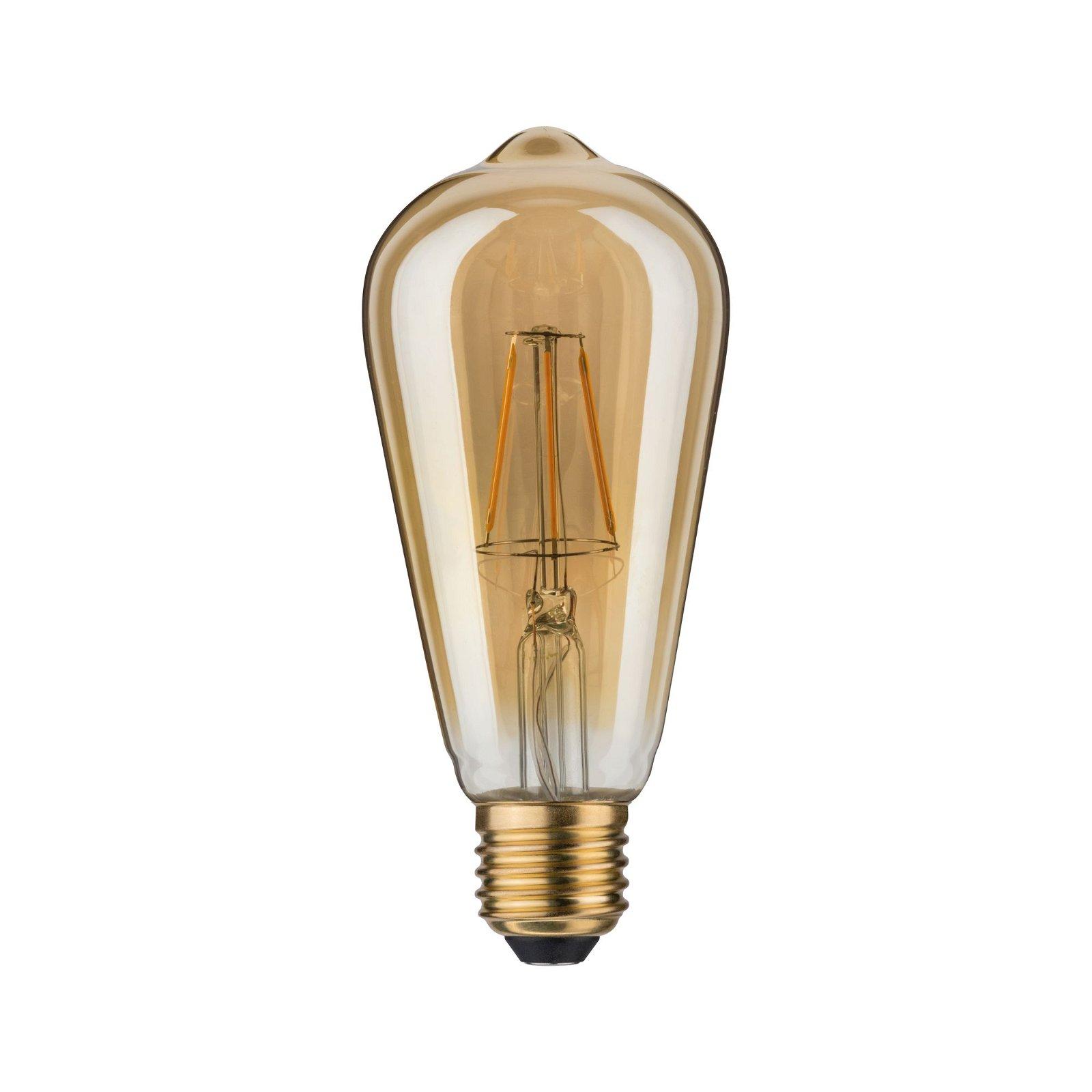 1879 LED-kolf Rustika E27 230V 250lm 4,4W 1700K Goud
