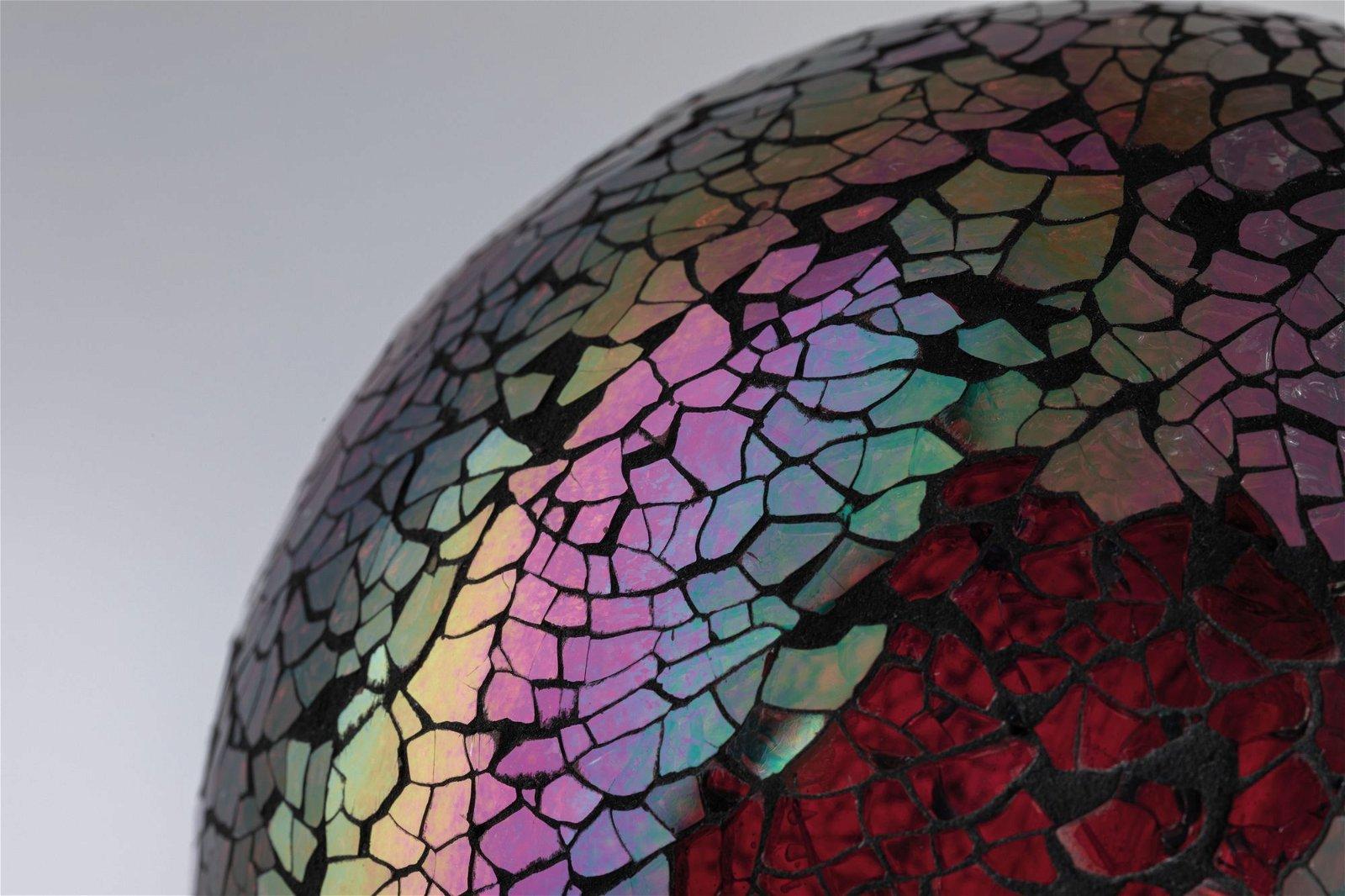Miracle Mosaic Edition LED Globe E27 230V 470lm 5W 2700K Rot