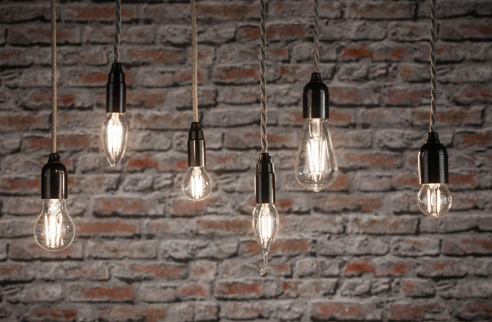 LED Kerze Filament E14 230V 2x470lm 2x4,5W 2700K Klar