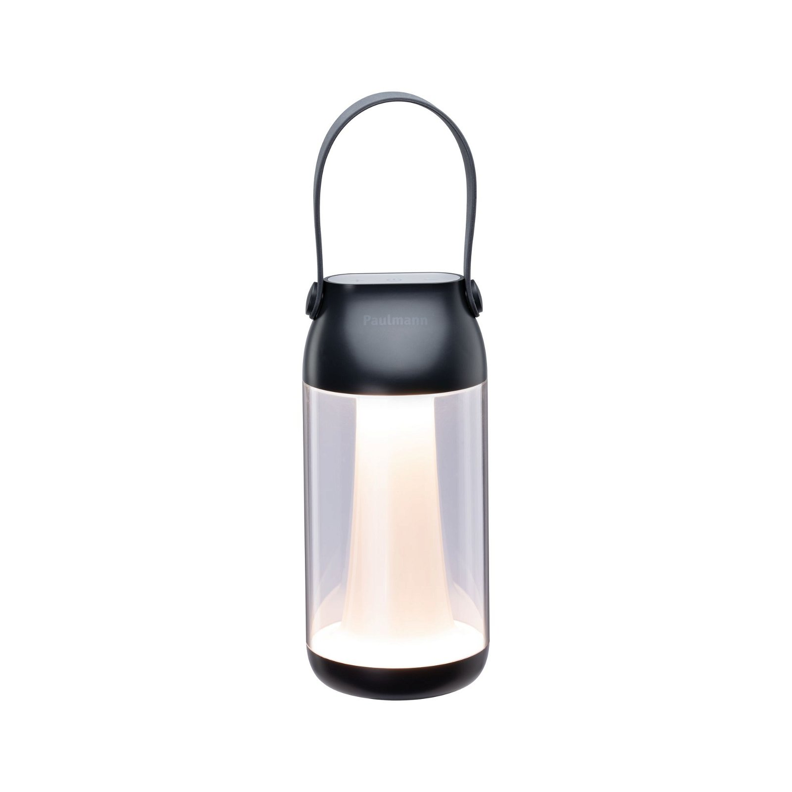 Luminaire rechargeable Cupulino IP44 3000K Transparent/Anthracite