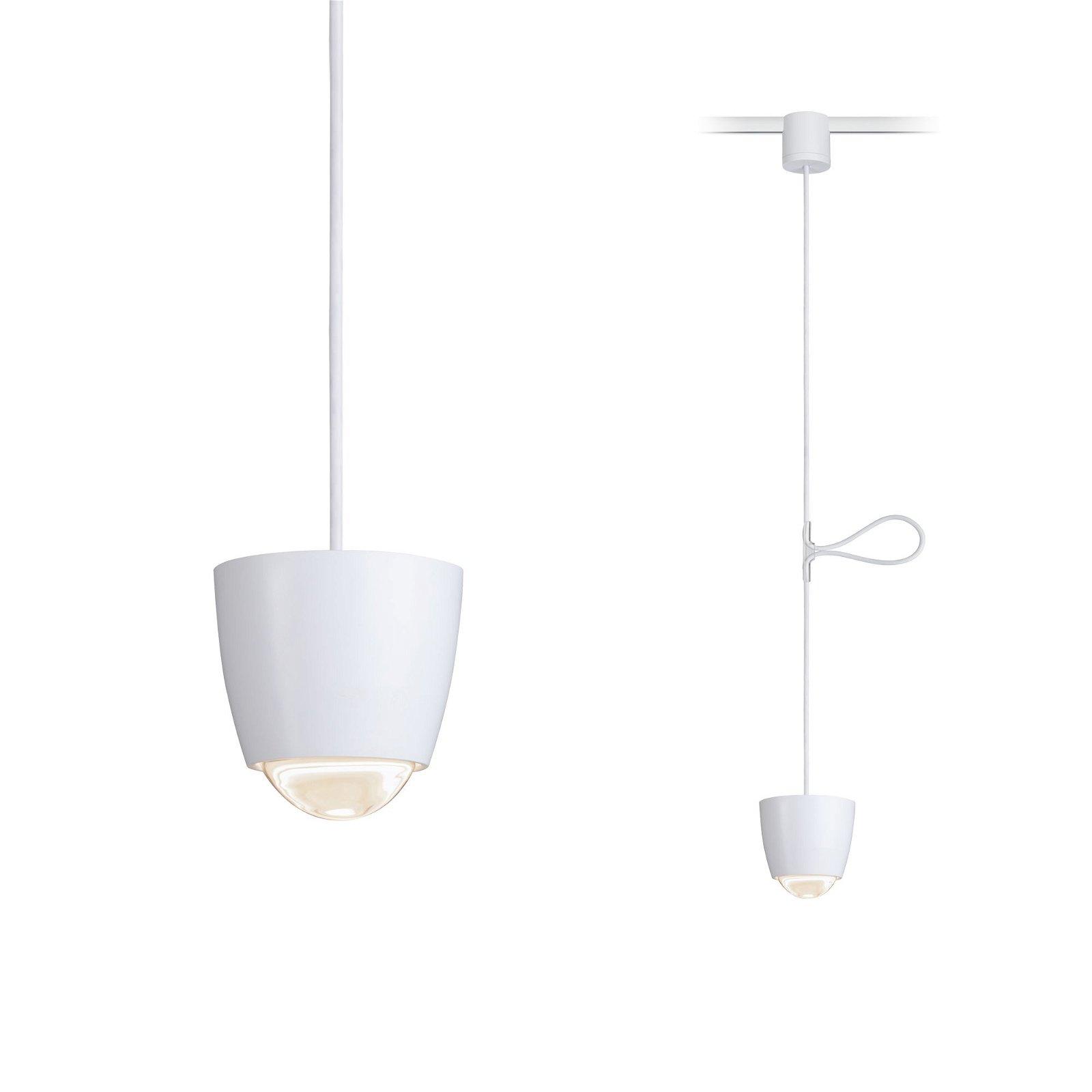 NanoRail Suspension LED Cono 6,5W Blanc dépoli