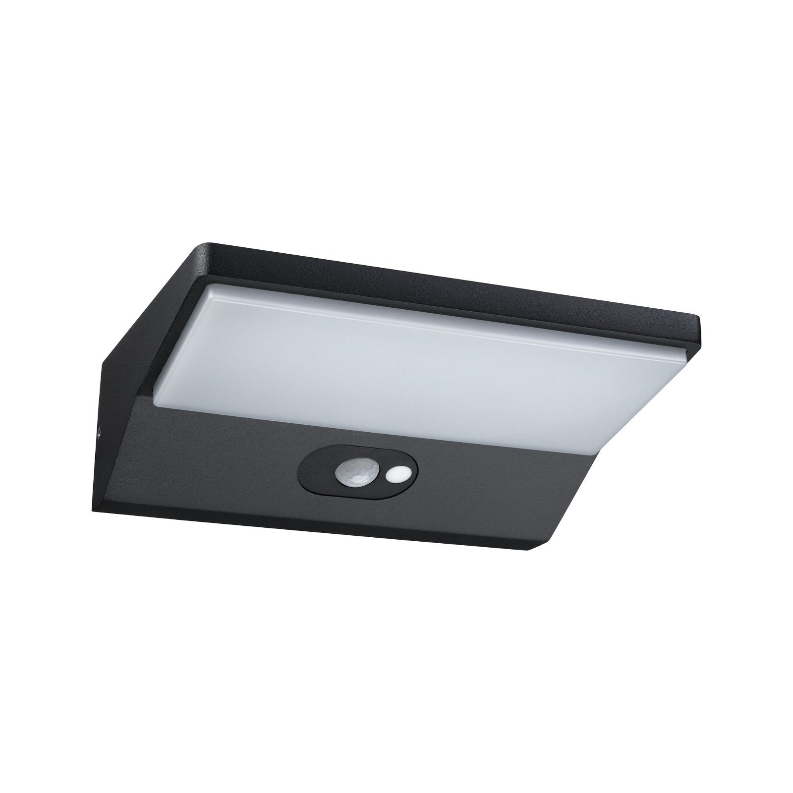 Solar LED Außenwandleuchte Ronas Bewegungsmelder IP44 3000K 310lm Dunkelgrau