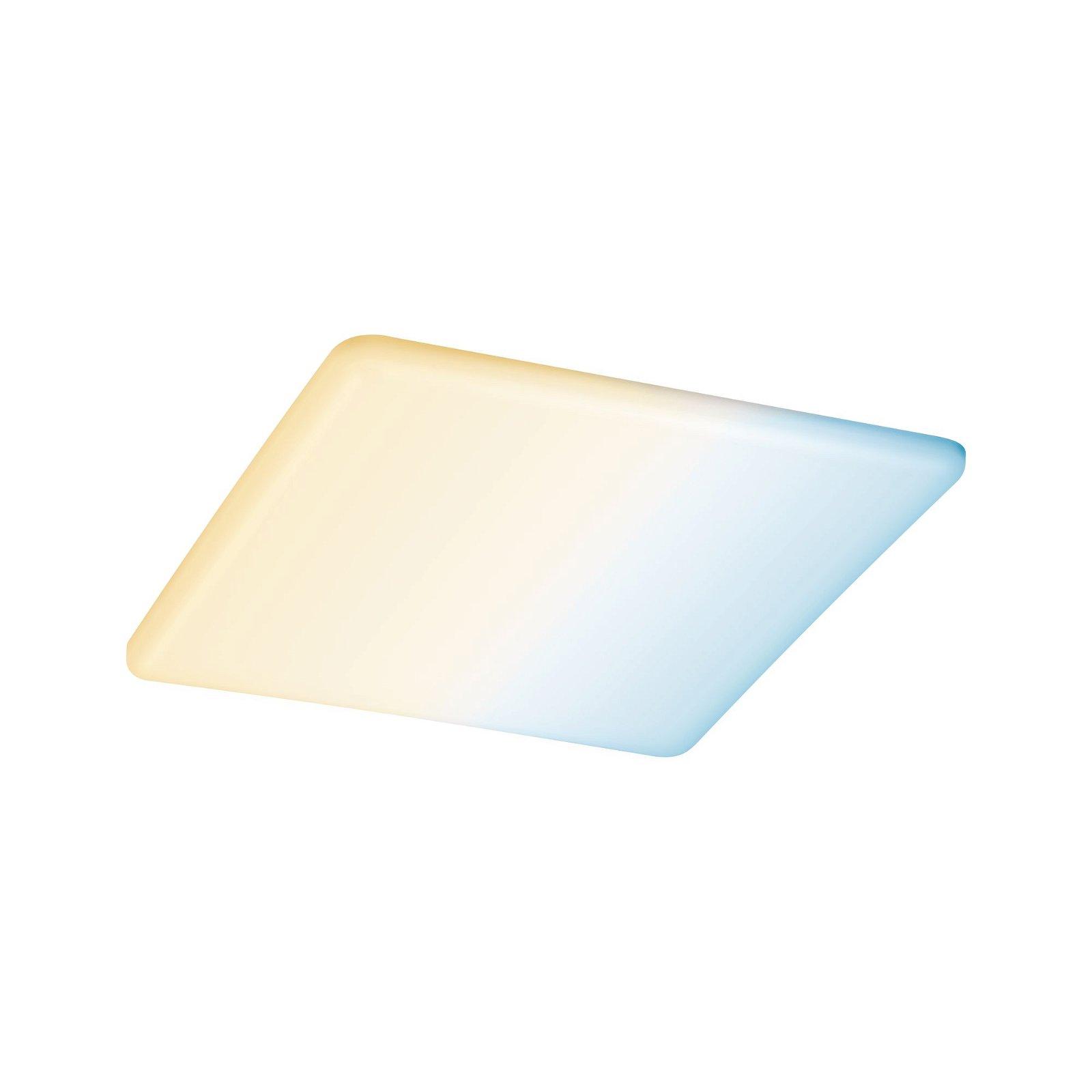 VariFit LED Einbaupanel Smart Home Zigbee Veluna IP44 IP44 eckig 215x215mm 1900lm Tunable White Satin