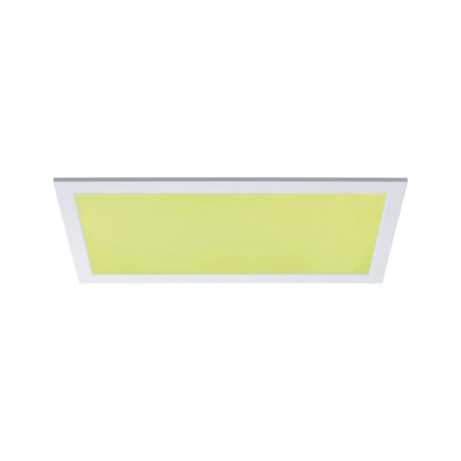 LED Panel Smart Home Zigbee Amaris square 595x295mm 2300lm RGBW Matt white