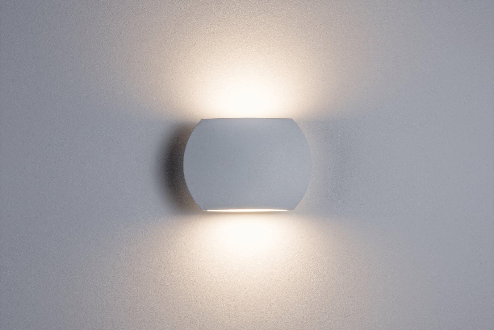 LED Wandleuchte Bocca 2700K 2x610lm 230V 2x2,73W Weiß