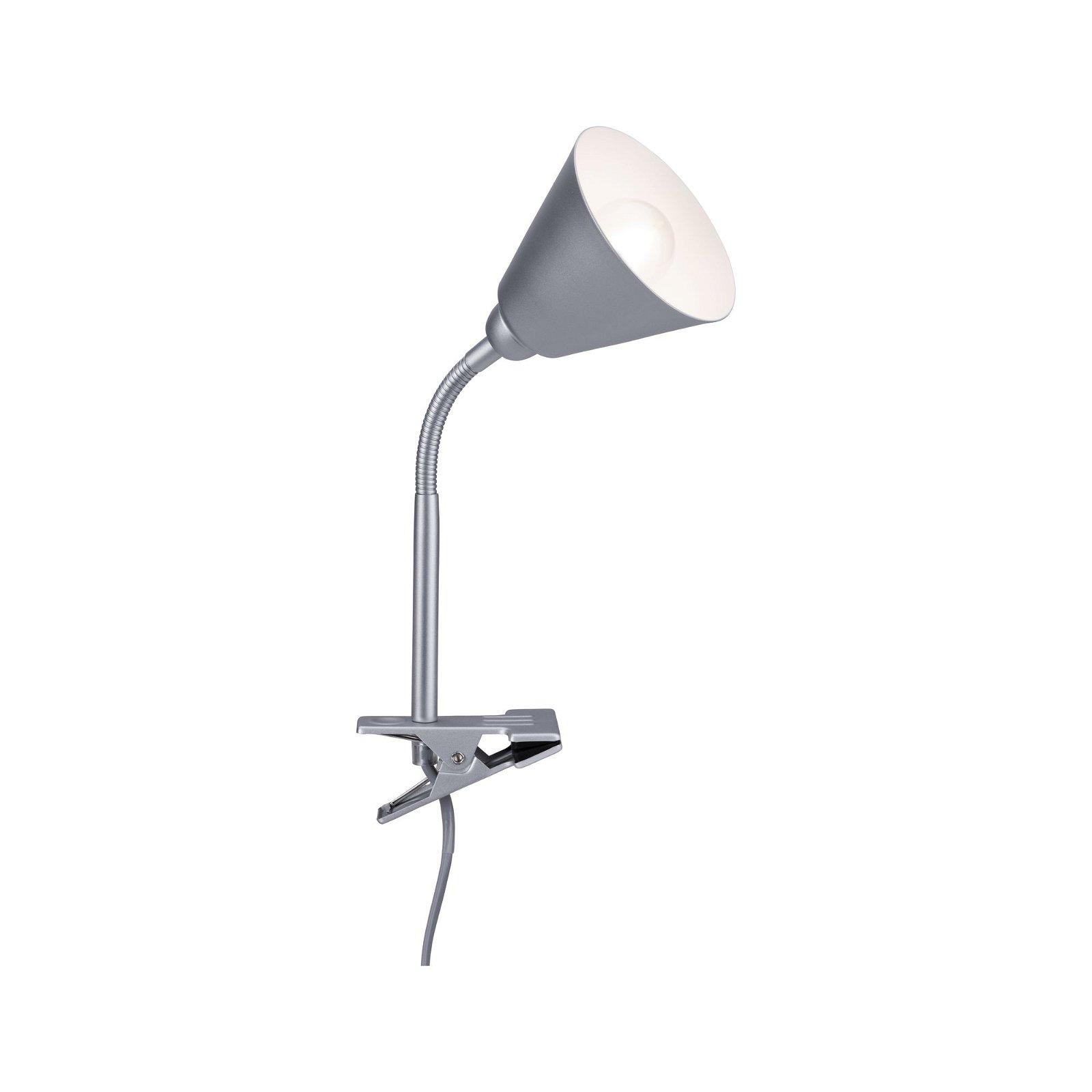 Klemlamp Vitis Grijs 230V E14