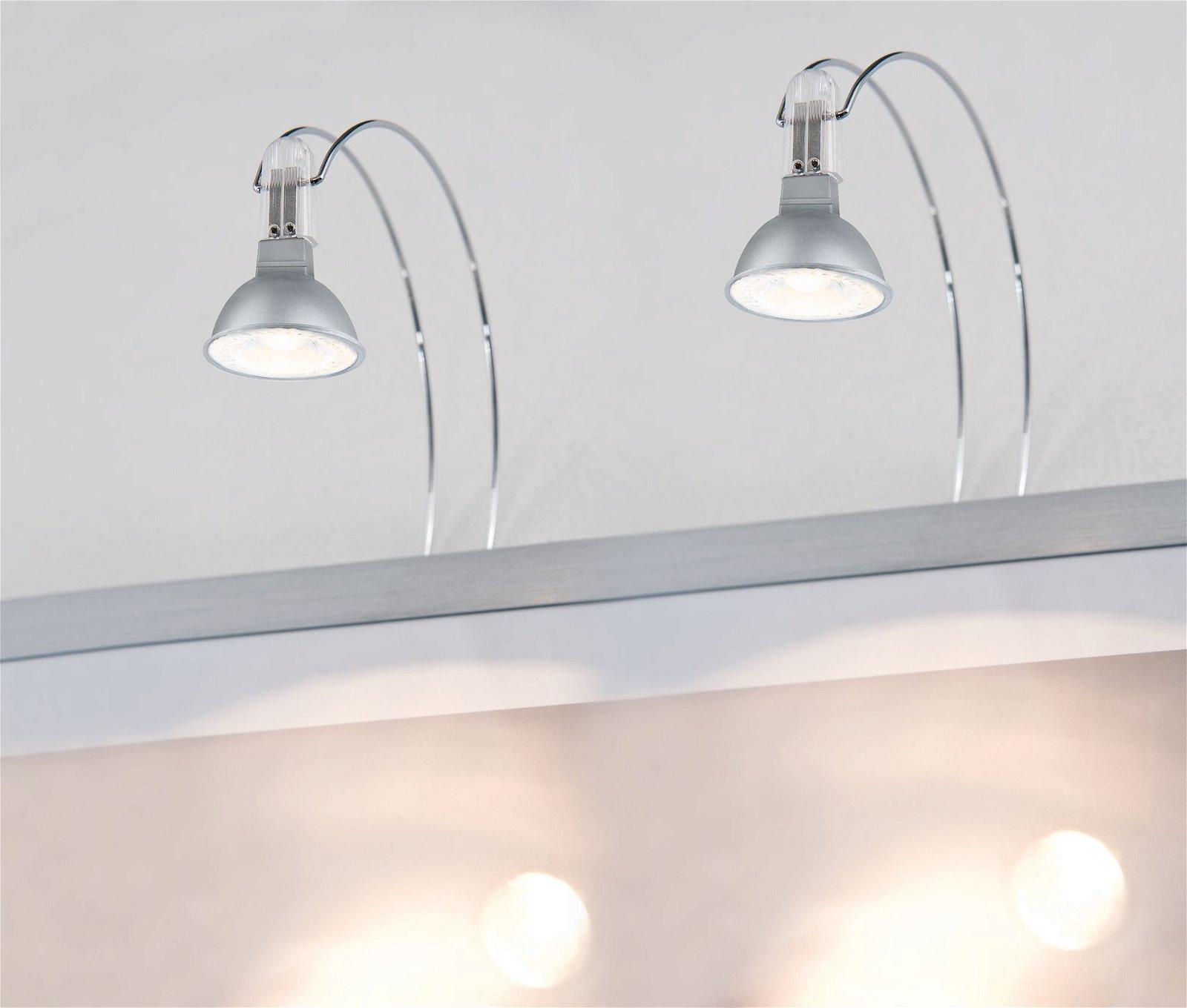 Galeria LED Spiegelleuchte Assistent II GU5,3 230V 2x4W Chrom