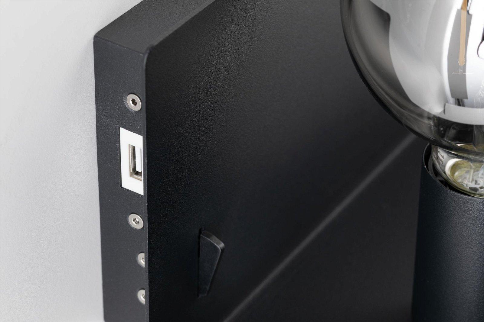 Applique Devara E27 230V max. 40W Noir