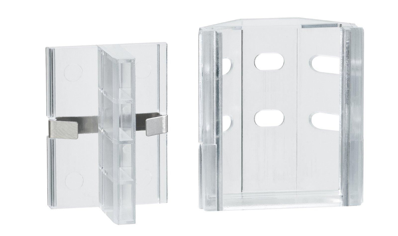 LED Strip profiel Duo Clix pak van 2 Transparant