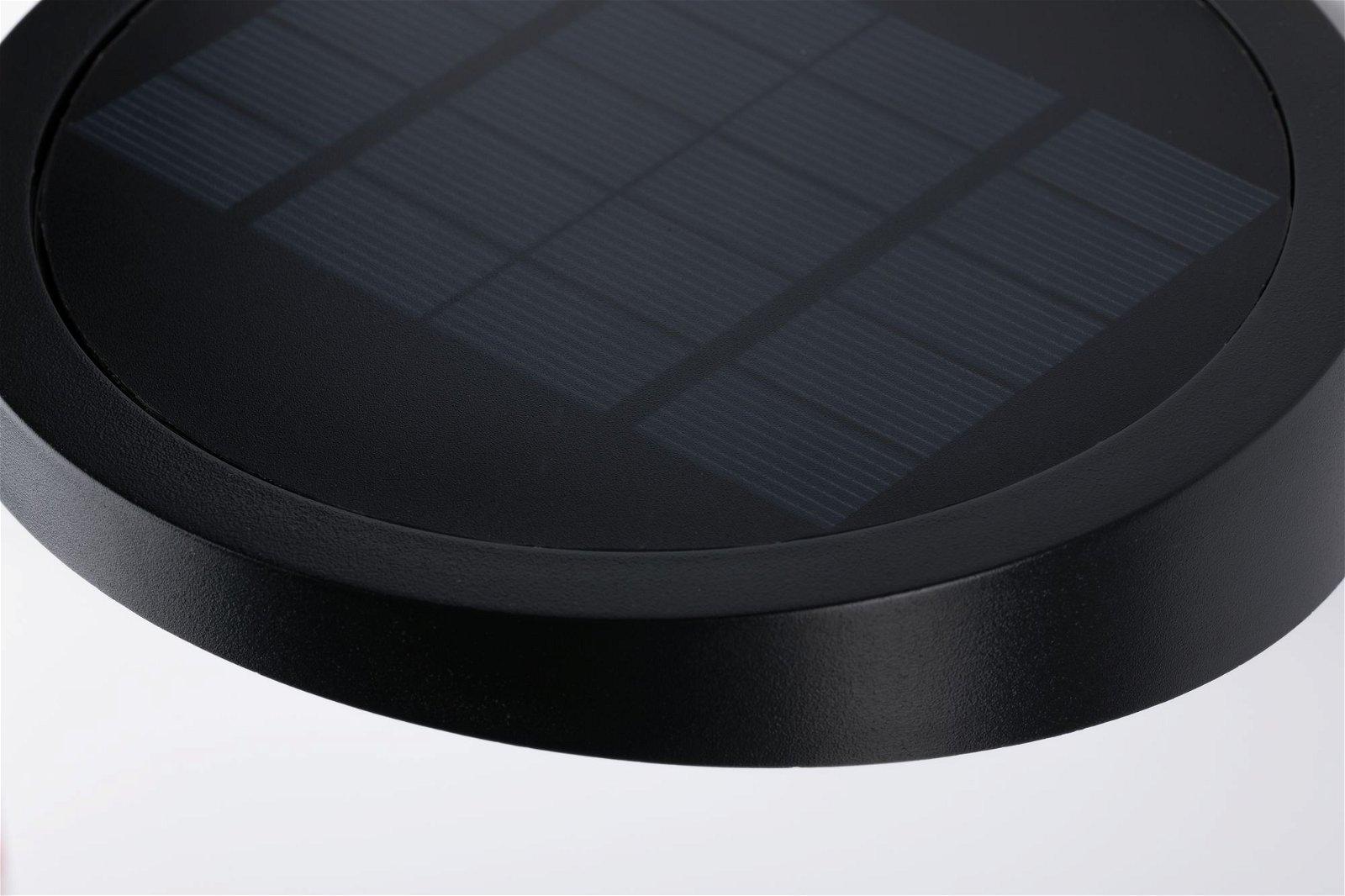 Solar Applique d'extérieur LED Ryse Détecteur de mouvement IP44 3000K 145lm Anthracite