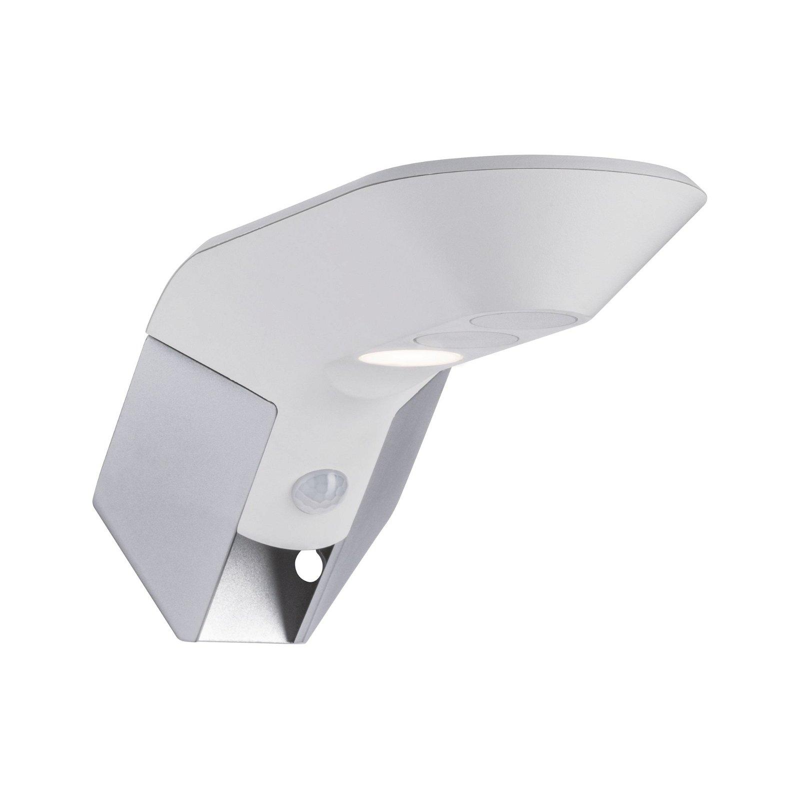 Solar LED Hausnummernleuchte Soley Bewegungsmelder IP44 3000K 150lm Weiß