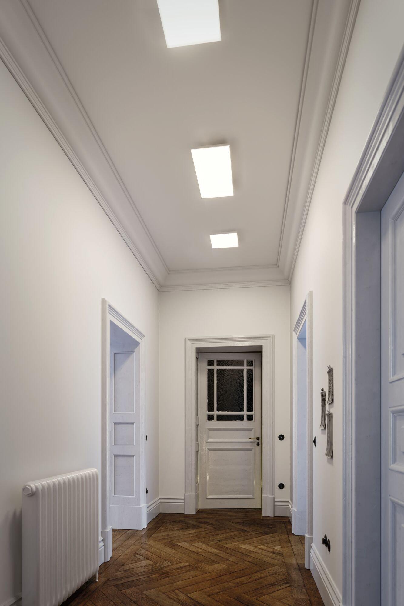 Panneau LED Velora carré 595x295mm 3300lm 3000K Blanc dépoli