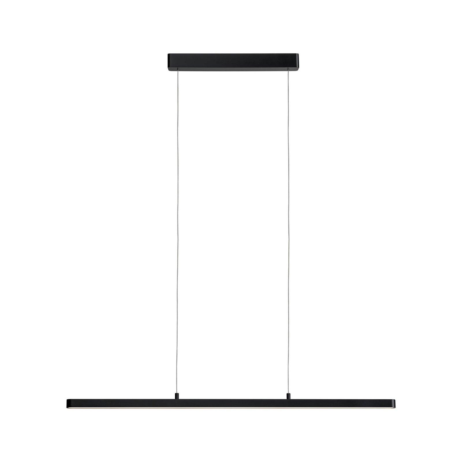 LED Pendelleuchte Smart Home Bluetooth Lento Tunable White 3570lm 43W Schwarz