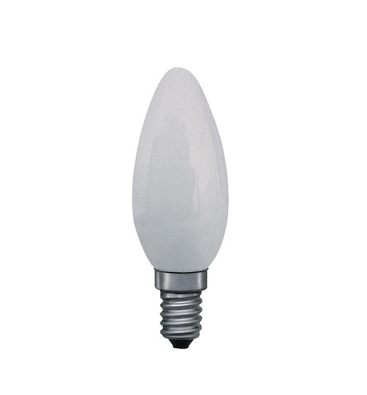 Ampoule à incandescence E14 230V 40lm 8W 2300K Dépoli