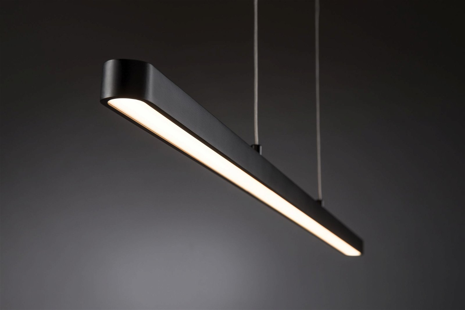 LED Pendelleuchte Lento 2700K 3495lm 42W Schwarz