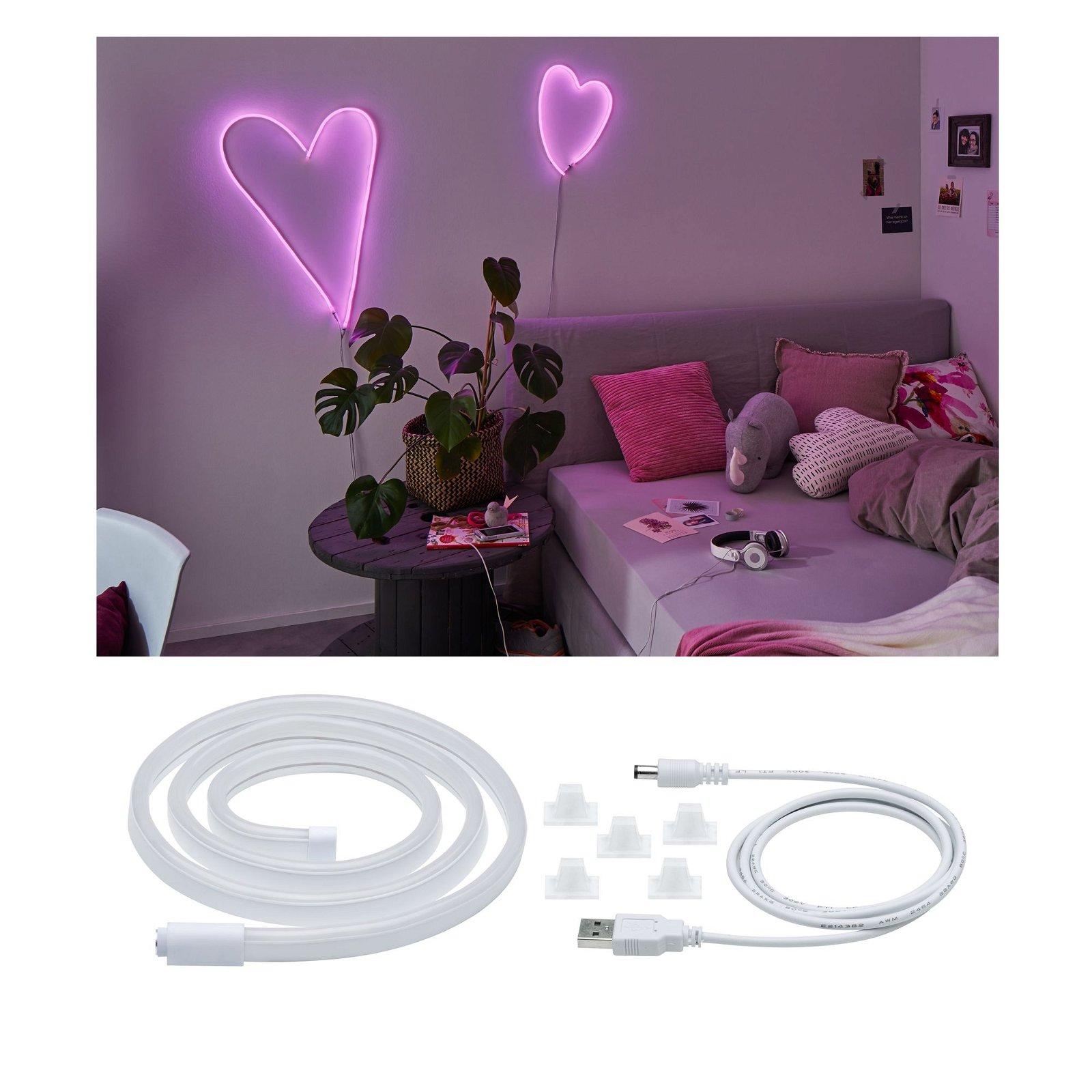 Strip USB LED Rose 1m 4,5W 10lm
