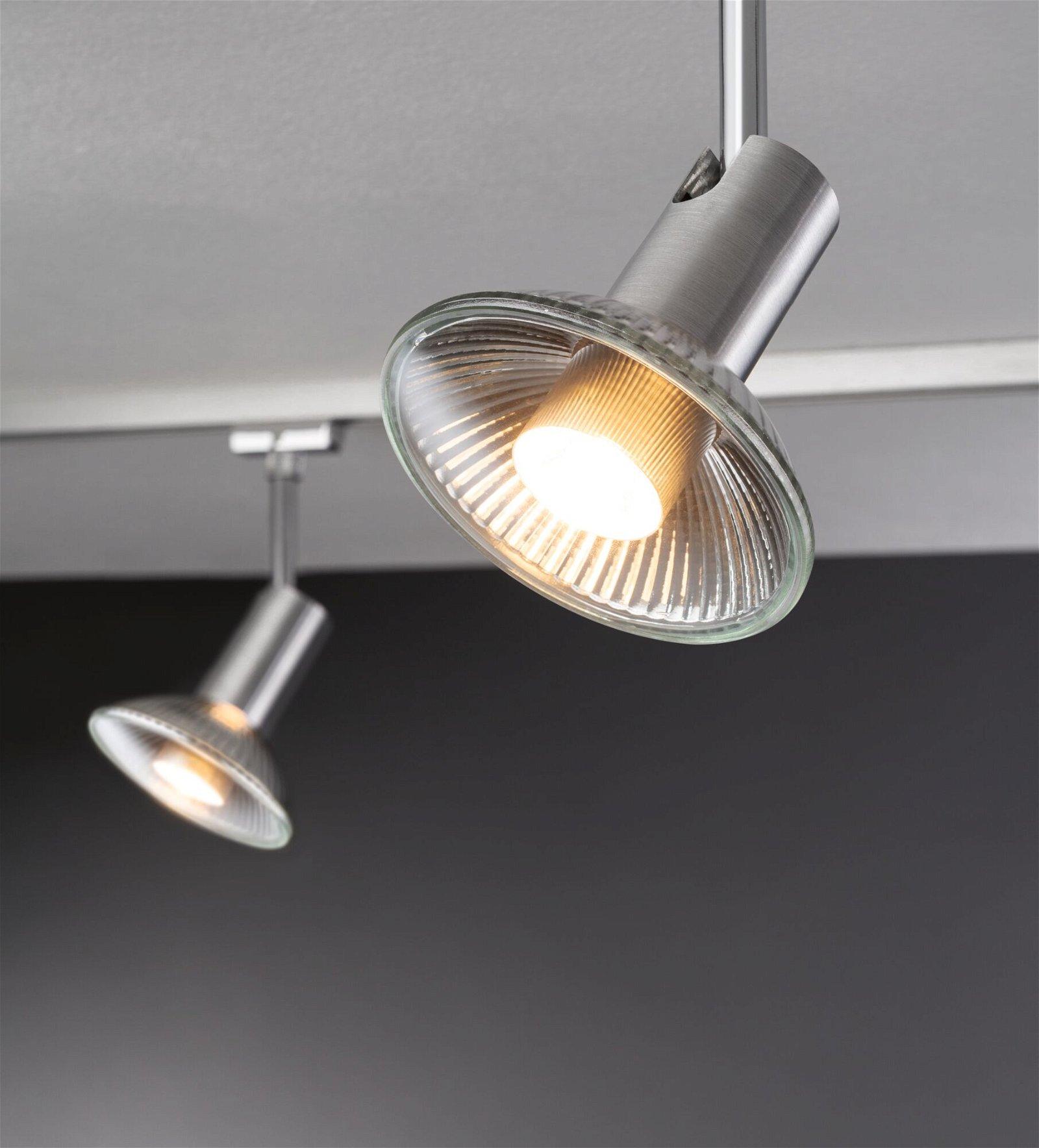 Réflecteur LED GU10 230V 350lm 4W 2700K Alu