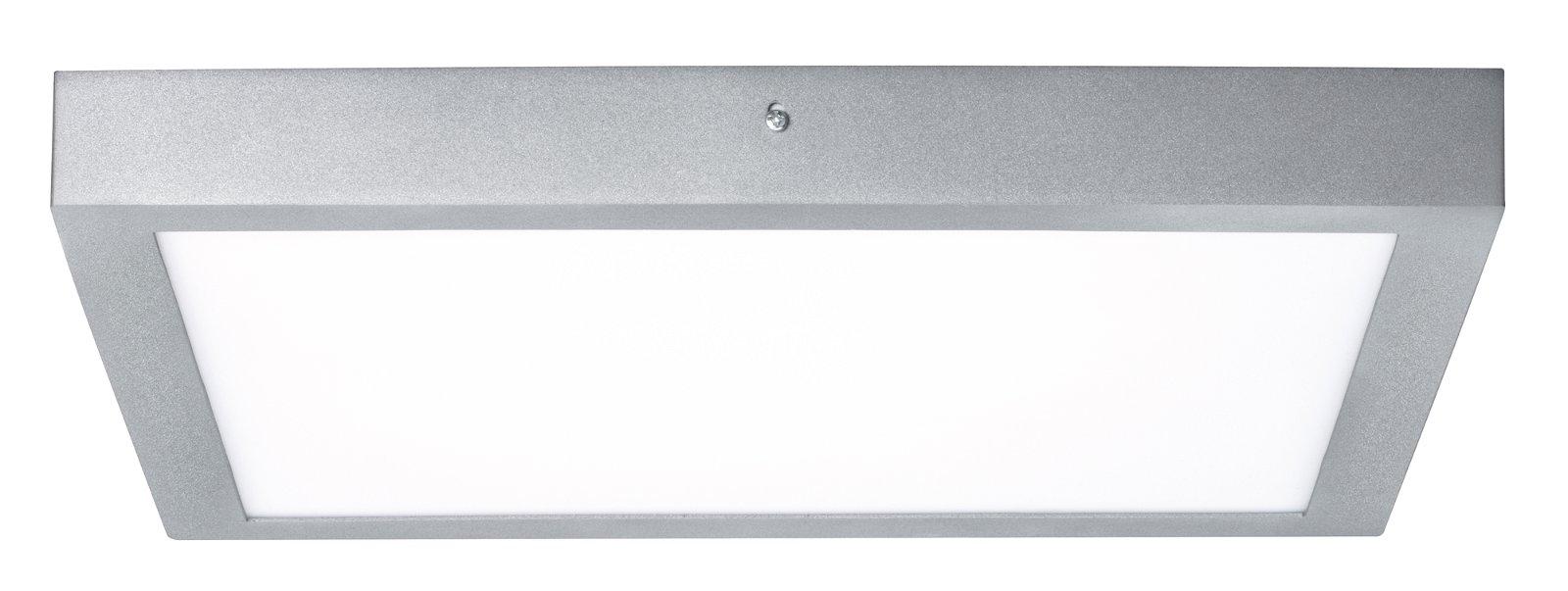 Panneau LED Lunar carré 400x400mm 2600lm 3000K Chrome mat