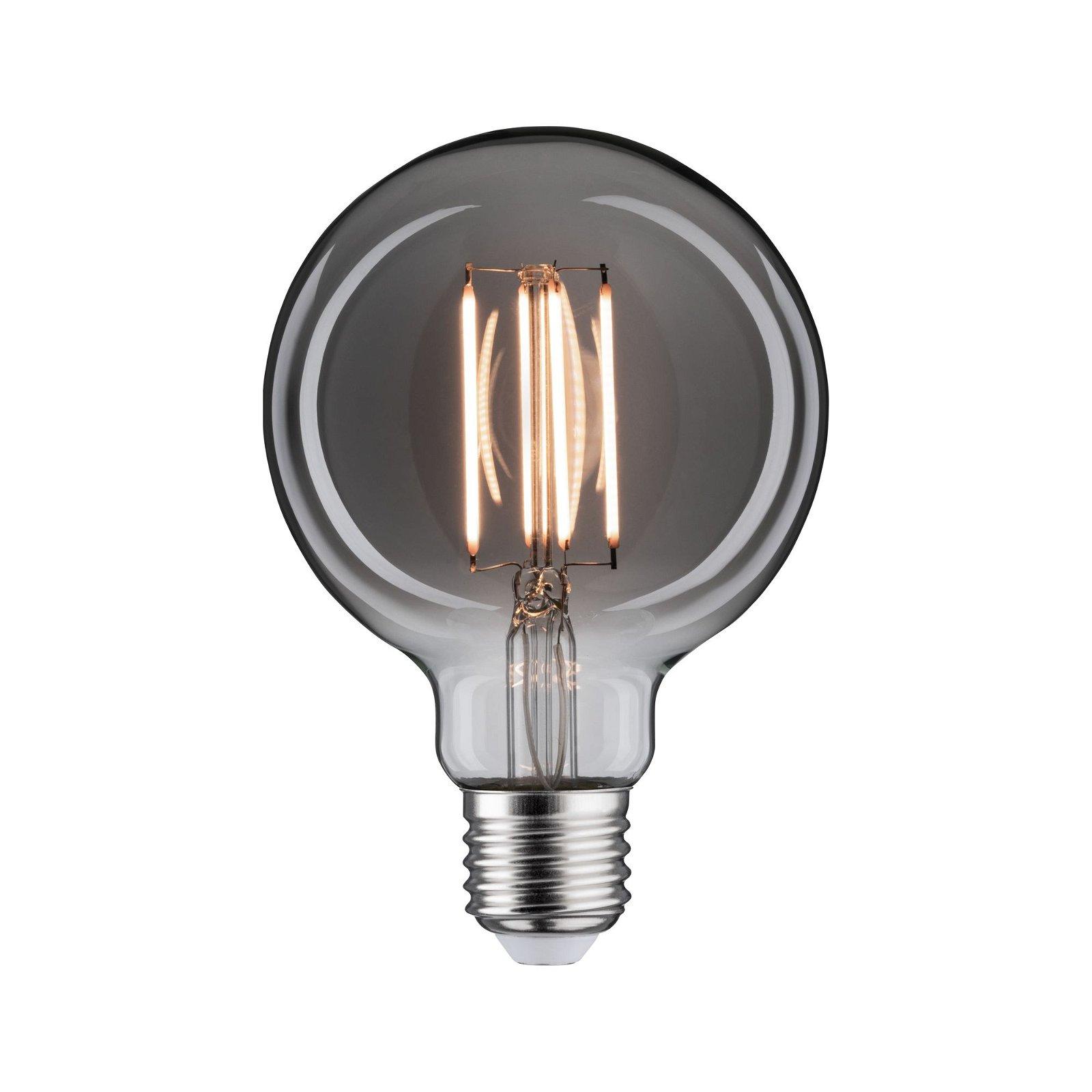 1879 LED Globe E27 230V 420lm 8W 2200K Rookglas