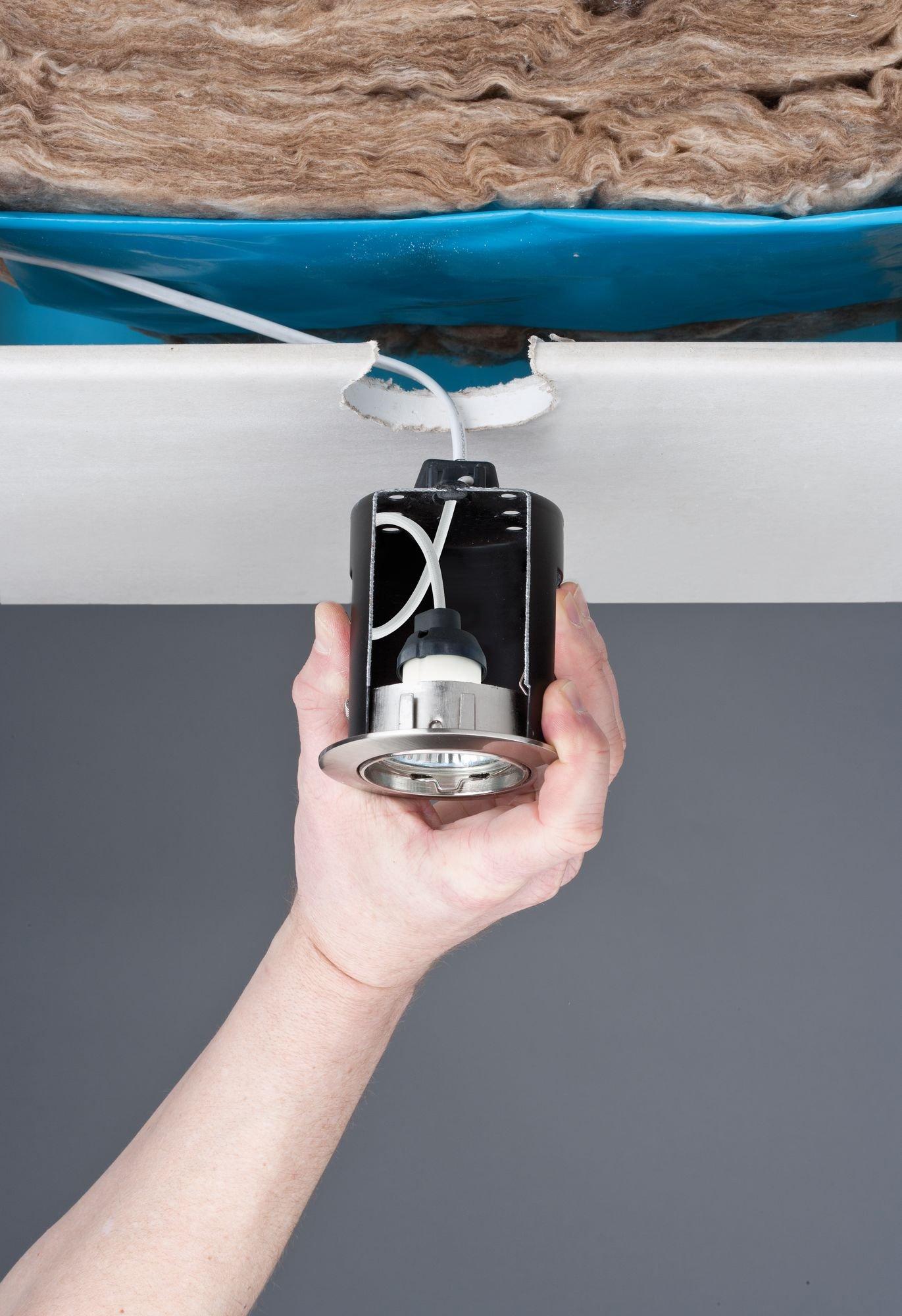 Accessoires pour spots encastrés 230V GU10 Noir