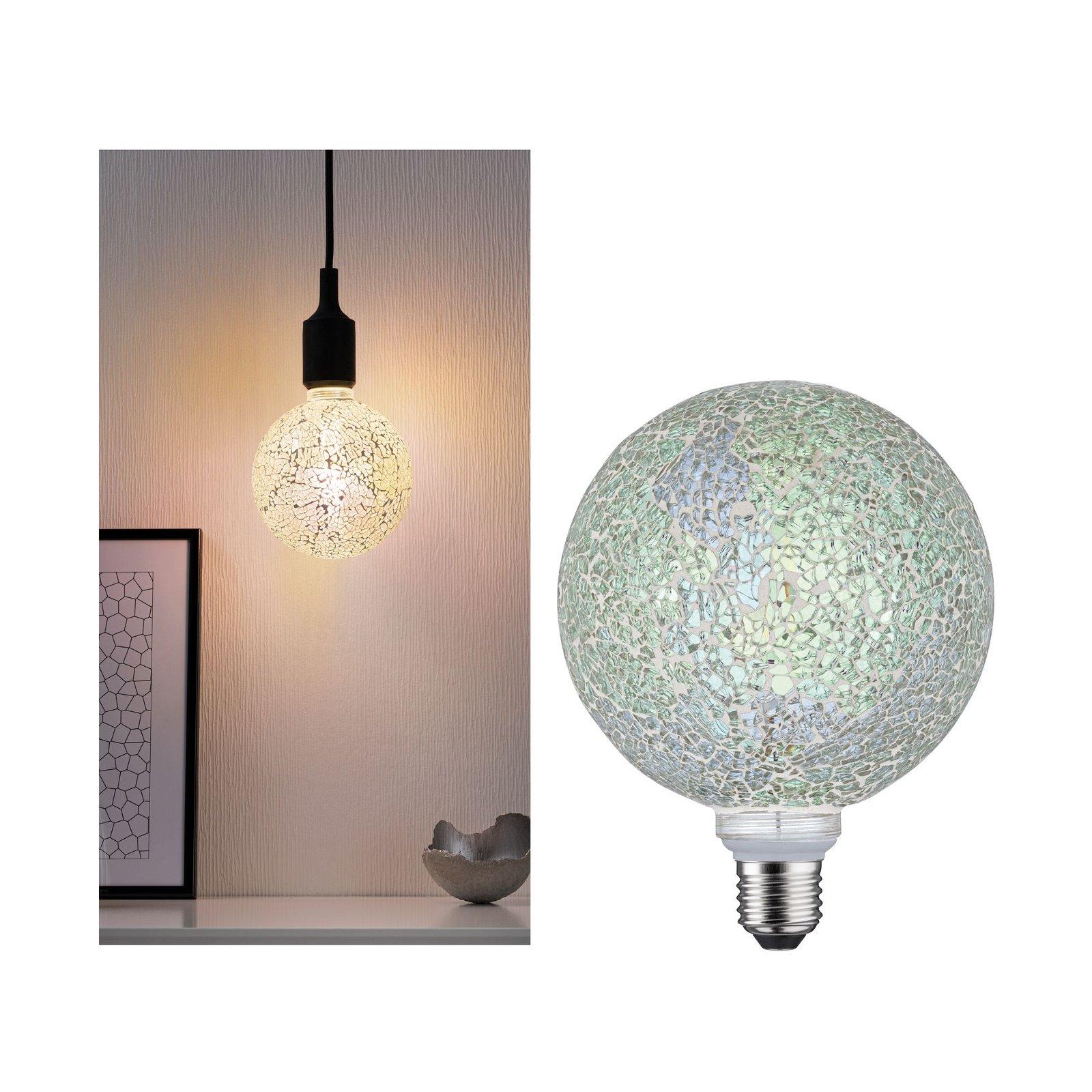 Miracle Mosaic Edition LED Globe E27 230V 470lm 5W 2700K Weiß