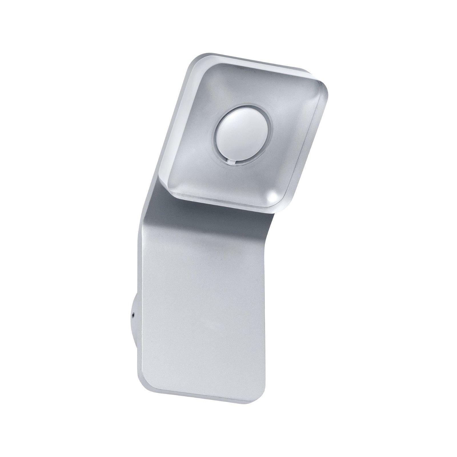 Wand- en spiegellamp vierkant Tucana LED IP44 4,5 W Alu, helder, metaal, acryl