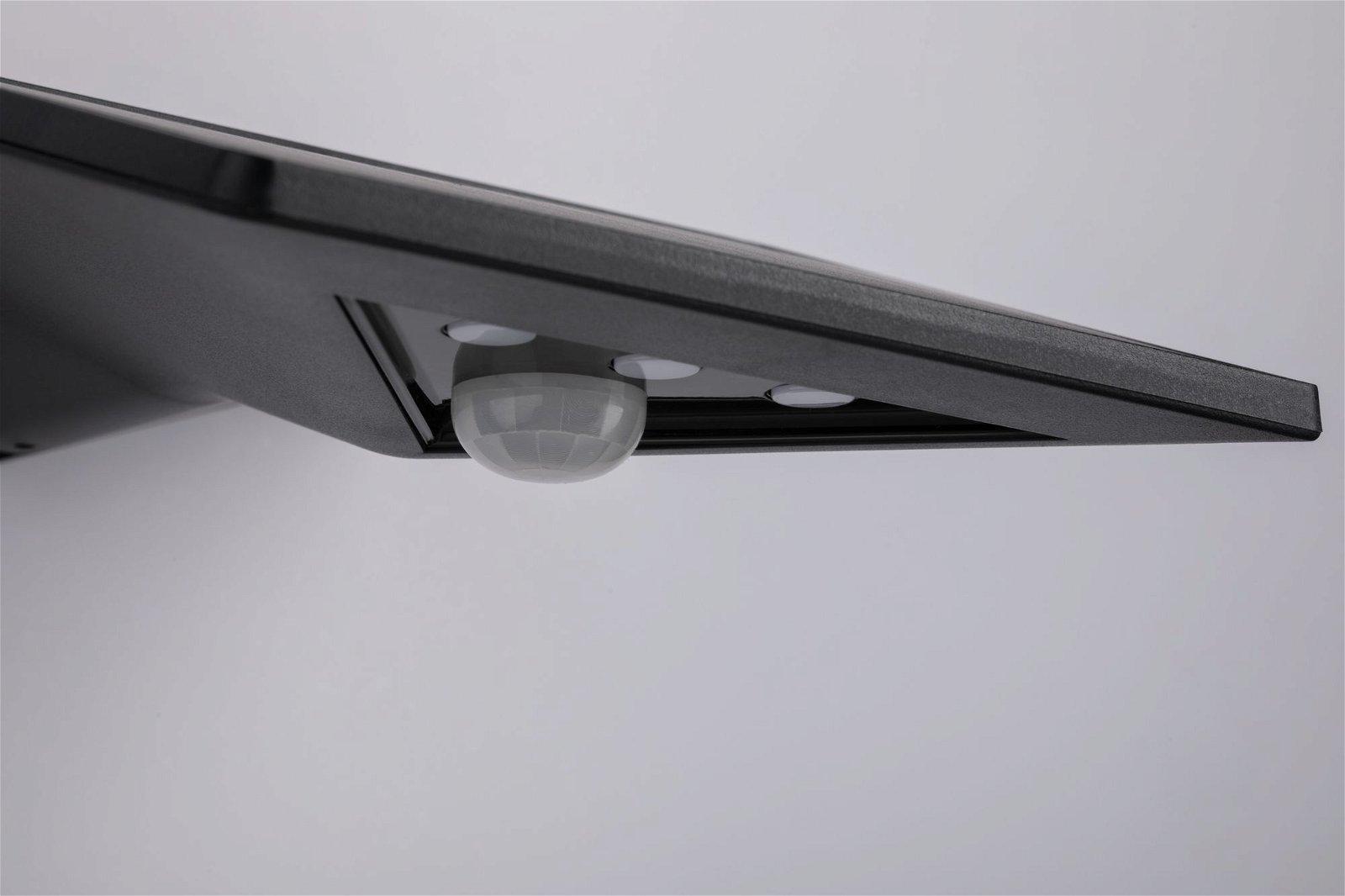 Solar LED Hausnummernleuchte Yoko IP44 3000K 145lm Anthrazit