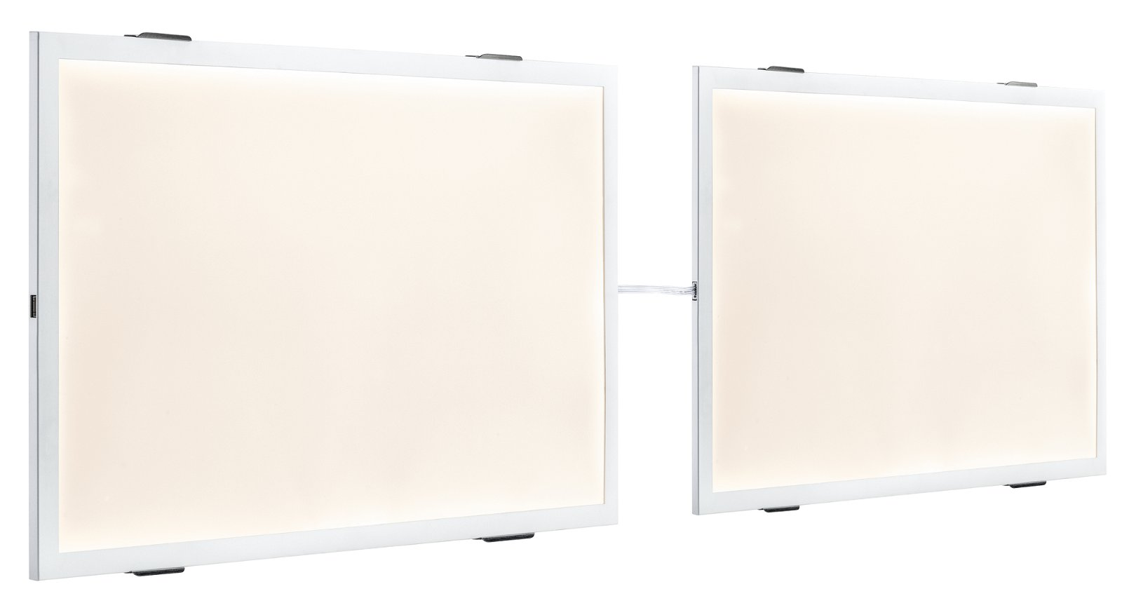 LED Panel Glow 8W Weiß Warmweiß Erweiterung