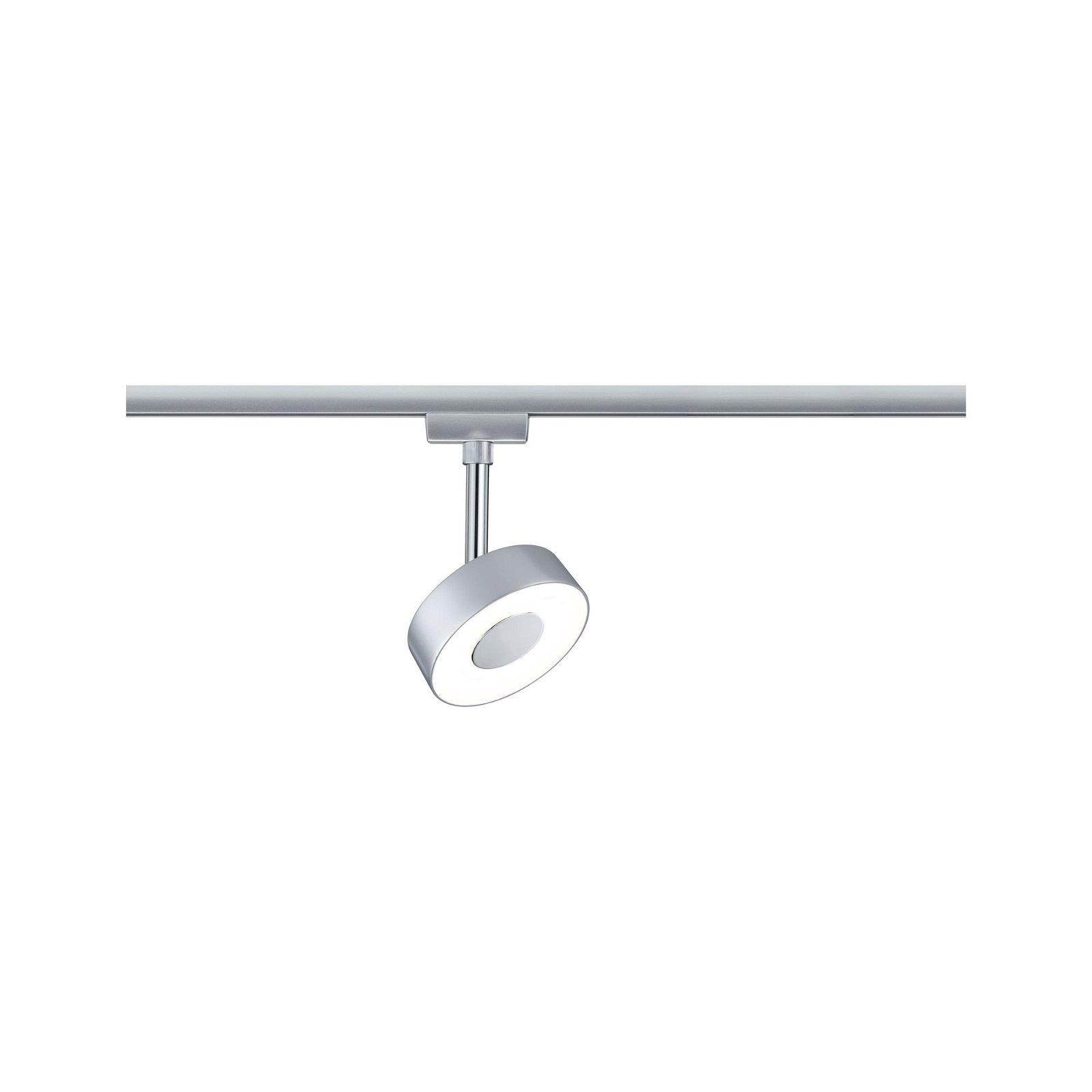 URail LED Rail spot Circle 308lm 5W 2700K 230V Chrome matt