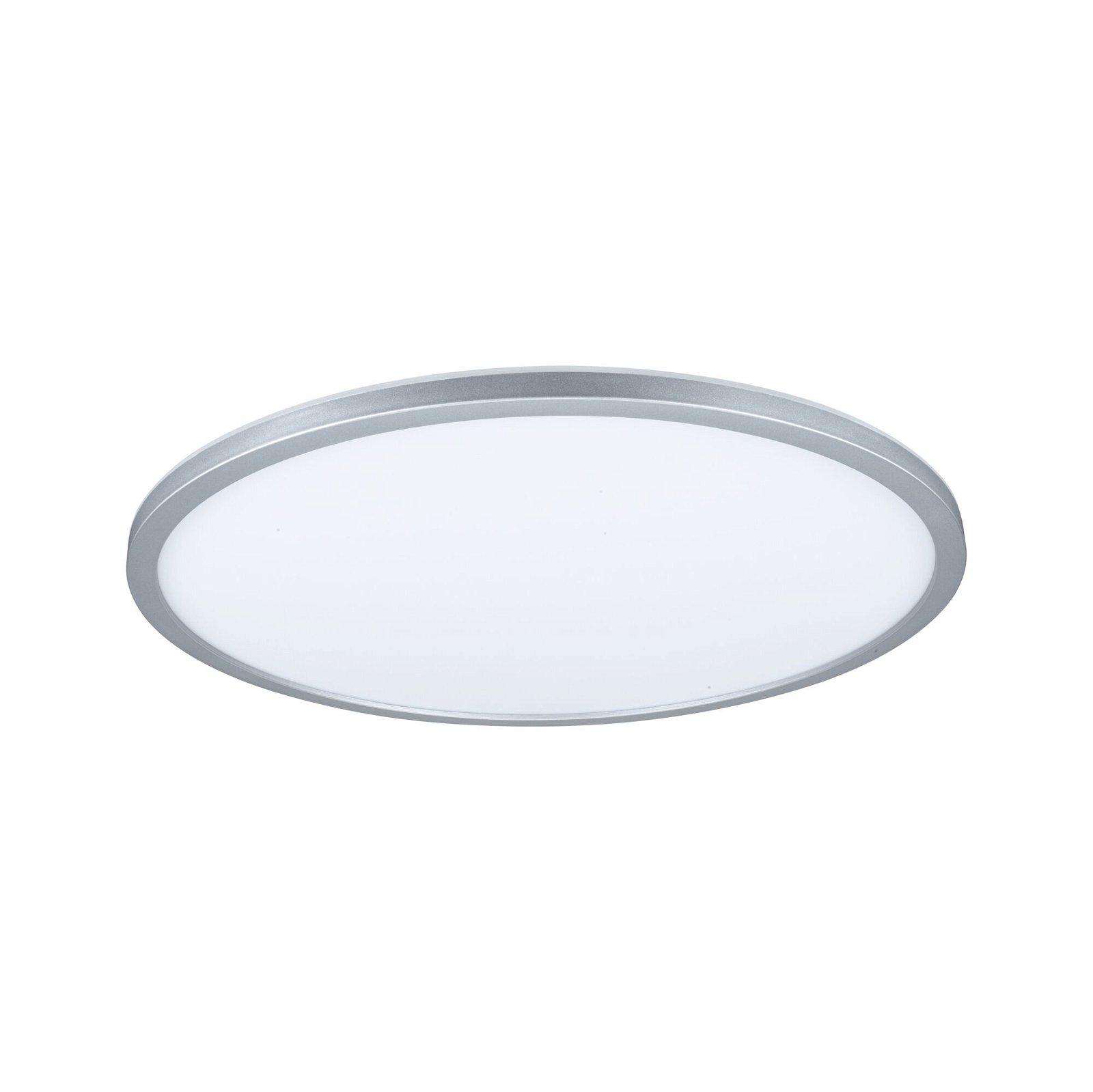 Panneau LED 3-Step-Dim Atria Shine rond 420mm 2800lm 3000K Chrome mat