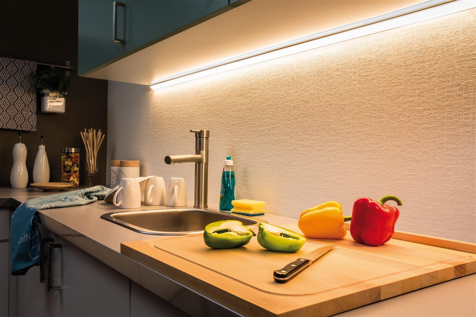 MaxLED 1000 LED Strip Warm wit 1m gecoat 12W 1100lm 2700K