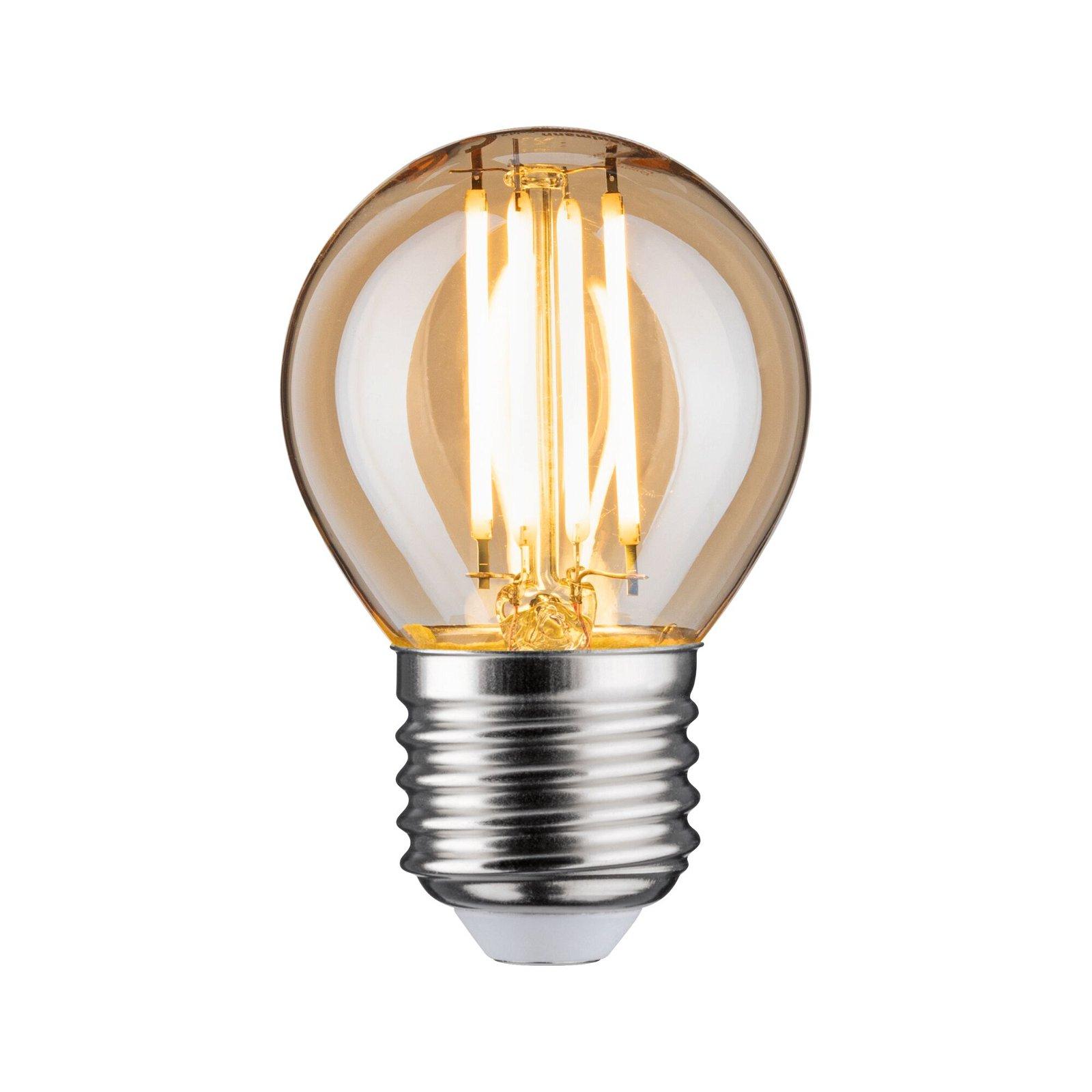 LED Tropfen E27 230V 430lm 4,7W 2500K Gold