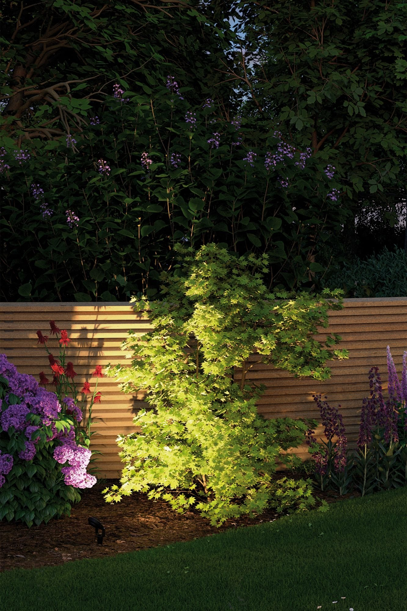 Plug & Shine LED Garden spotlight Sting Basic Set IP67 3000K 3x6W 75VA Anthracite