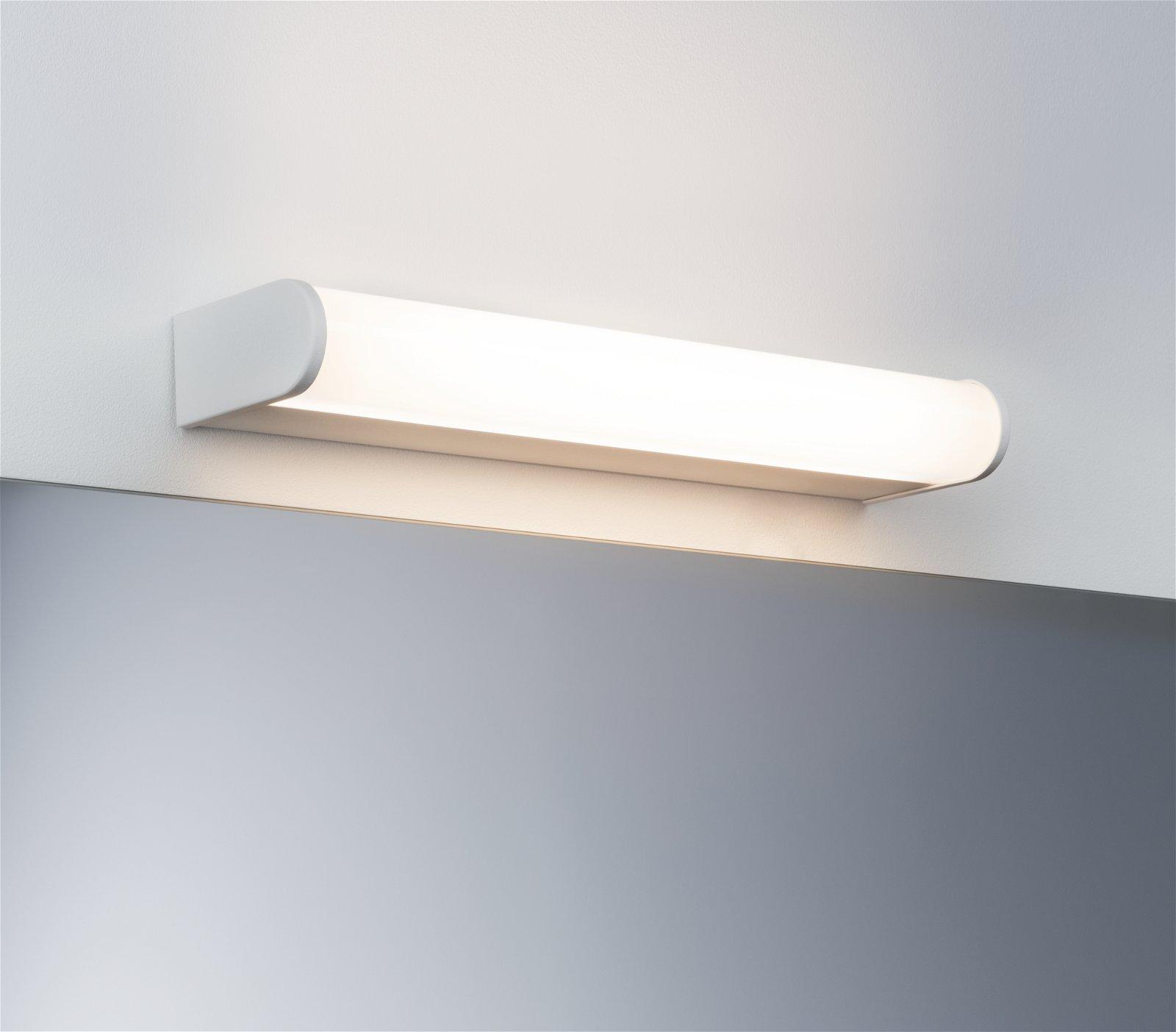HomeSpa LED Wandleuchte Arneb IP44 3000K 700lm 230V 9W Weiß