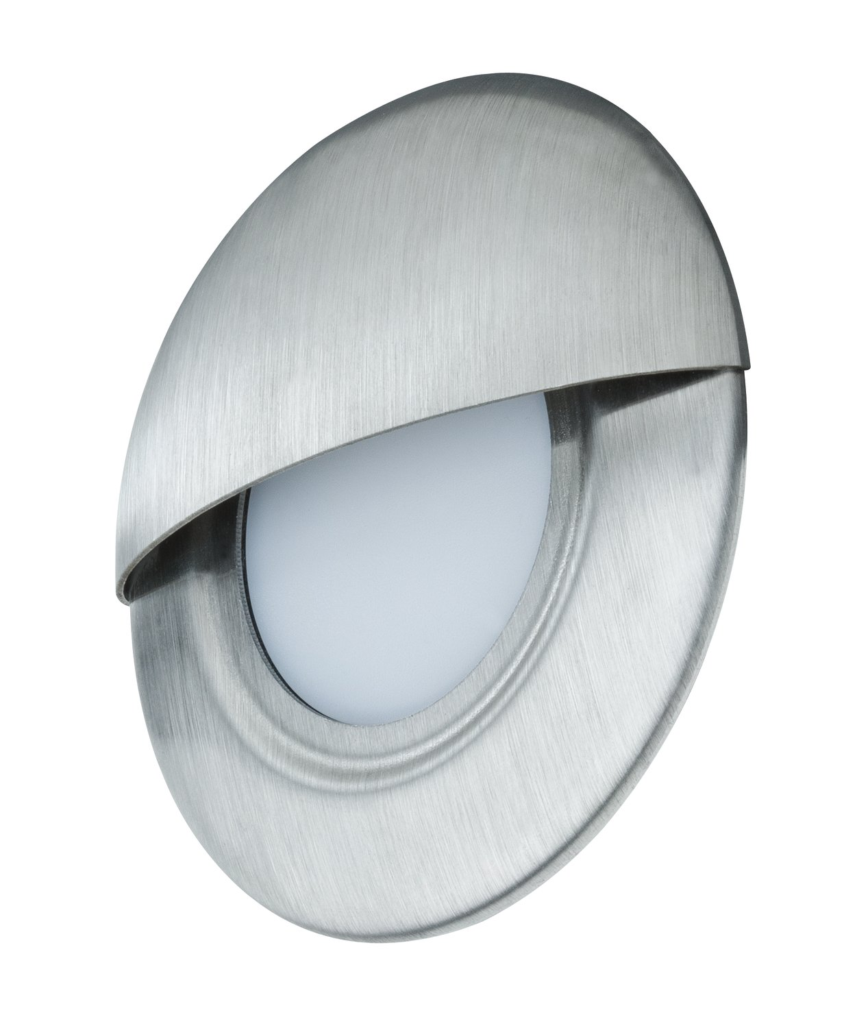 LED-wandinbouwlamp Special Line rond 87mm Edelstaal