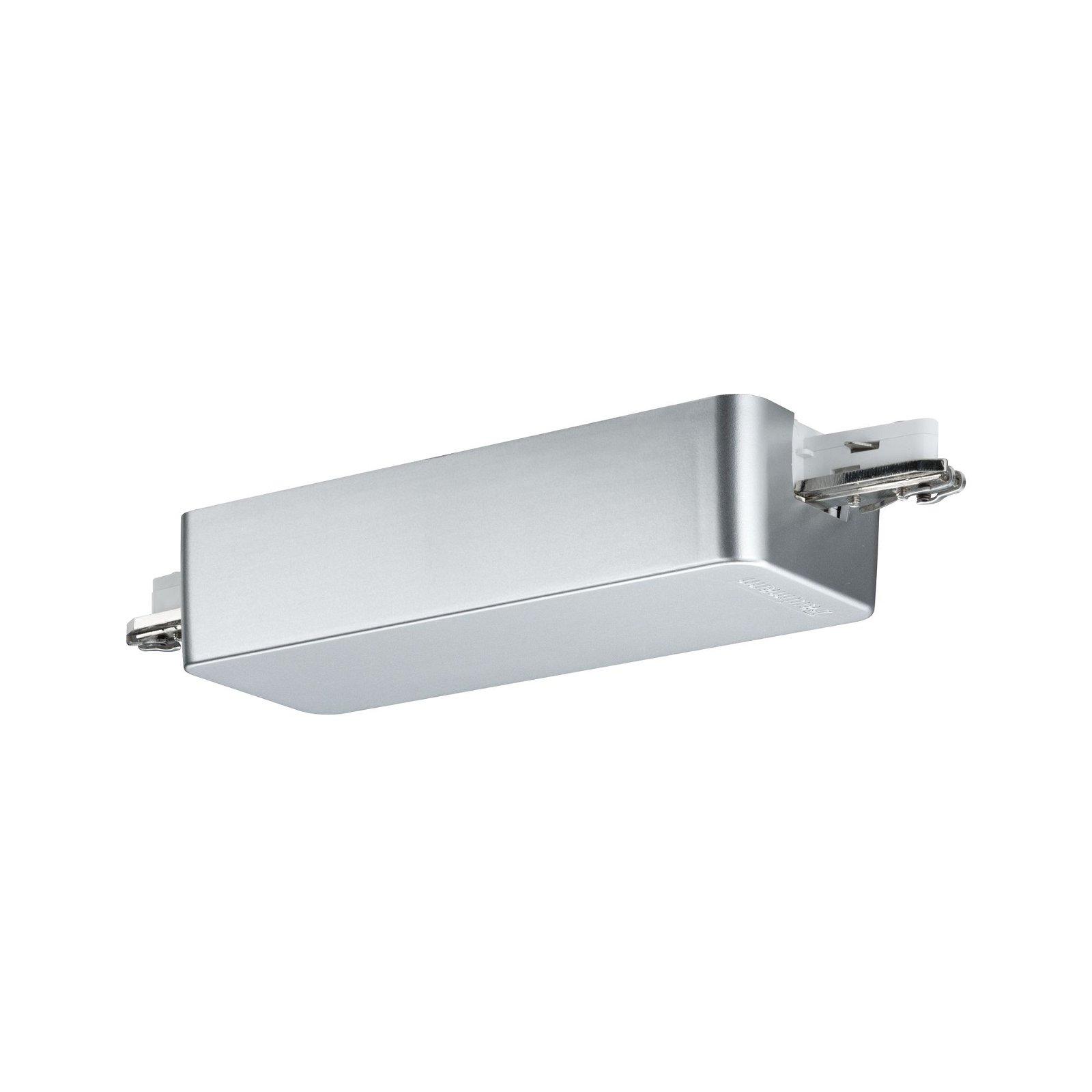 URail Railadapter Dimm/Switch 155x56mm Chroom mat