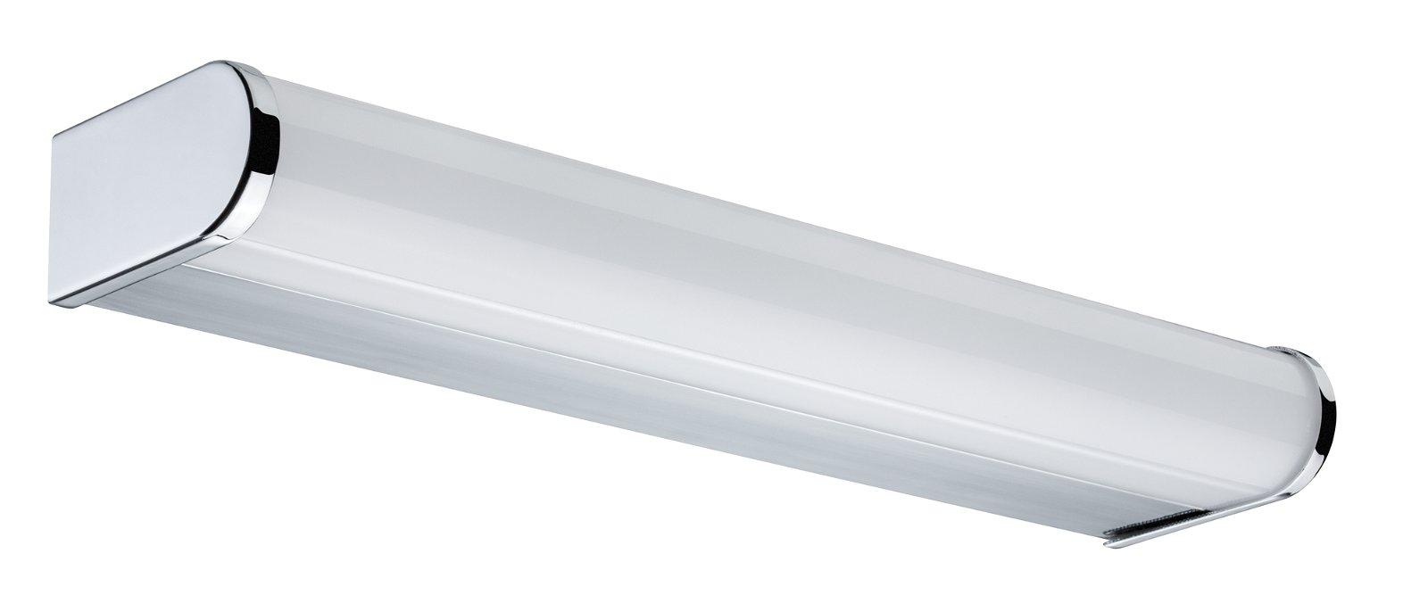 HomeSpa LED Wandleuchte Arneb IP44 3000K 700lm 230V 9W Chrom