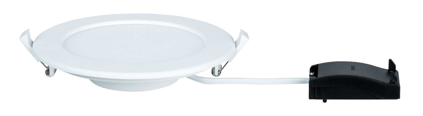 LED Recessed panel IP44 round 170mm 1118lm 2700K White