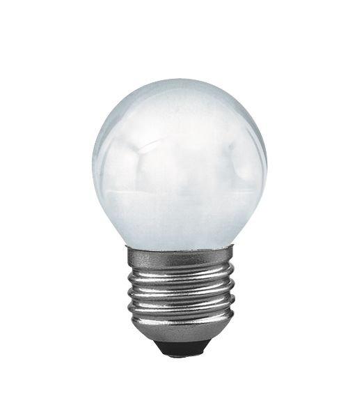 Ampoule à incandescence E27 230V 40lm 8W 2300K Dépoli