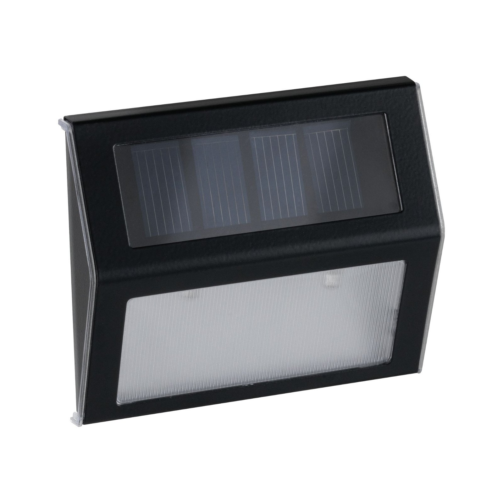 Solar LED Treppenleuchte Dayton IP44 3000K 4lm Anthrazit