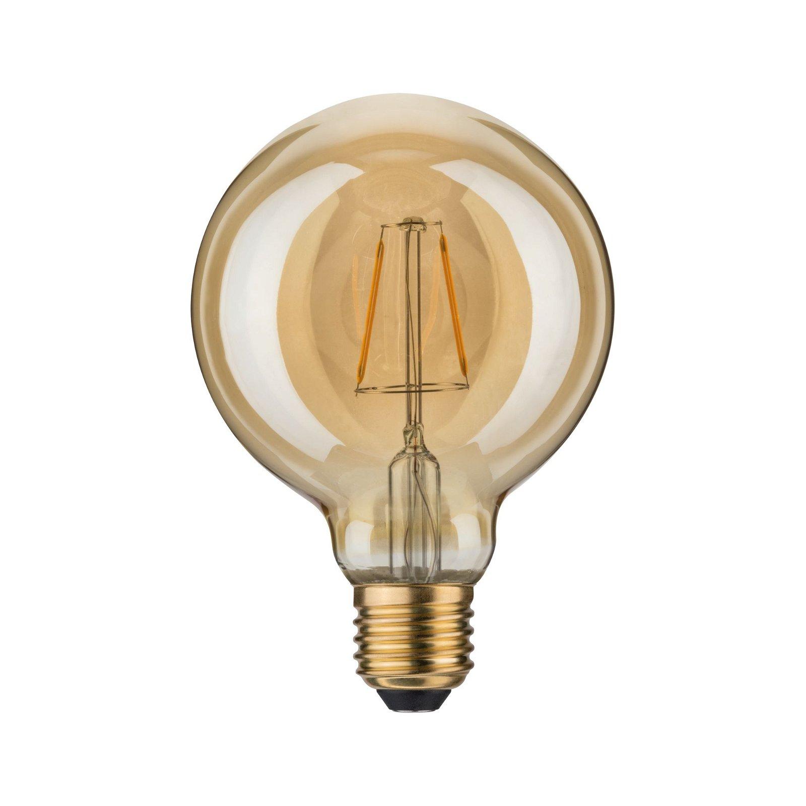 1879 LED Globe E27 230V 170lm 2,7W 1700K Gold