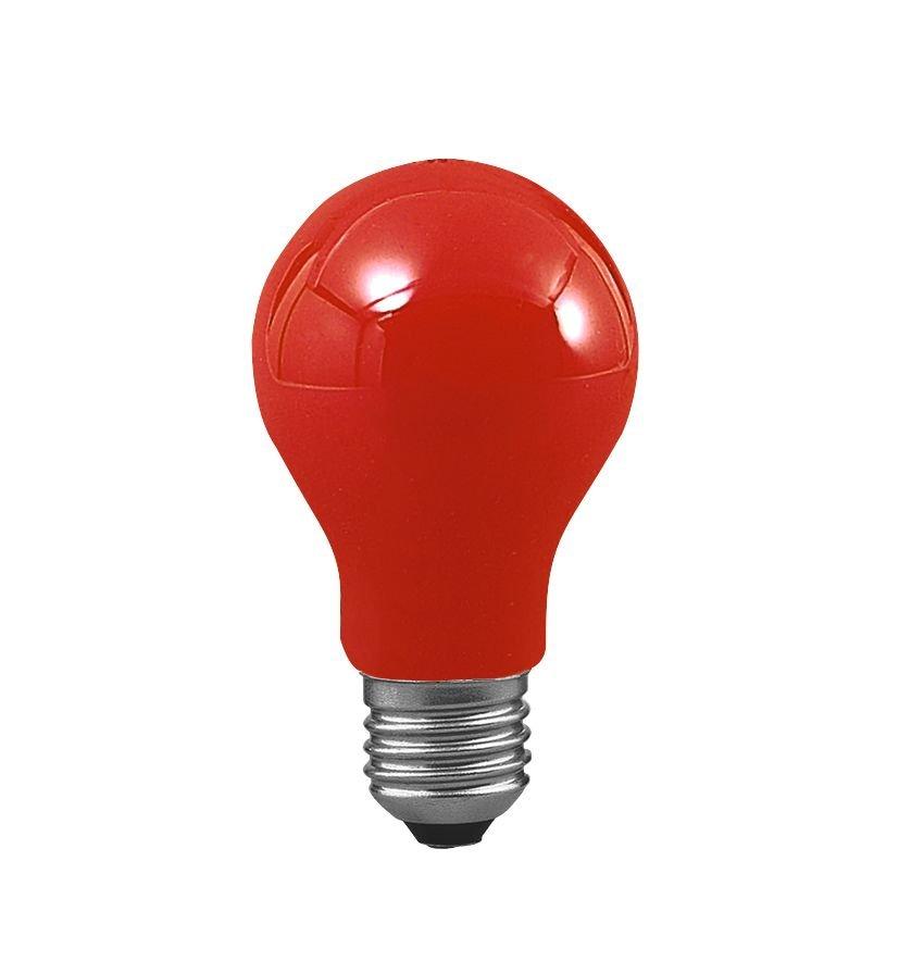 Glühbirne E27 230V 2lm 25W Rot
