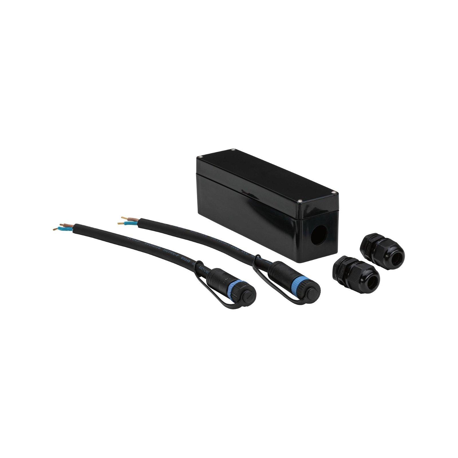 Plug & Shine Connection Box für Loxone Compact Dimmer IP68 max. 150W Weiß